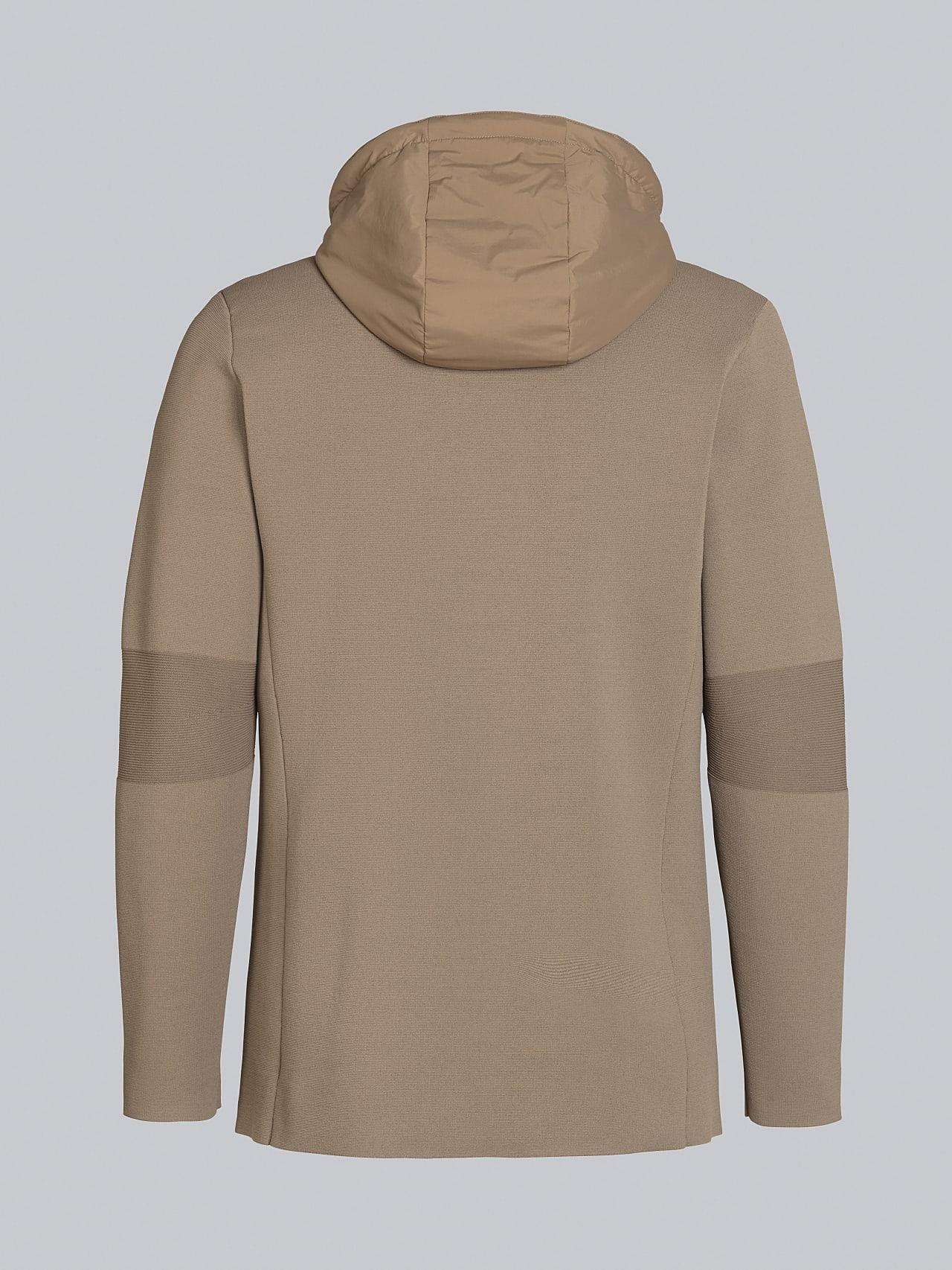 FELIP V1.Y5.02 Water-Repellent Knit Blazer gold Left Alpha Tauri