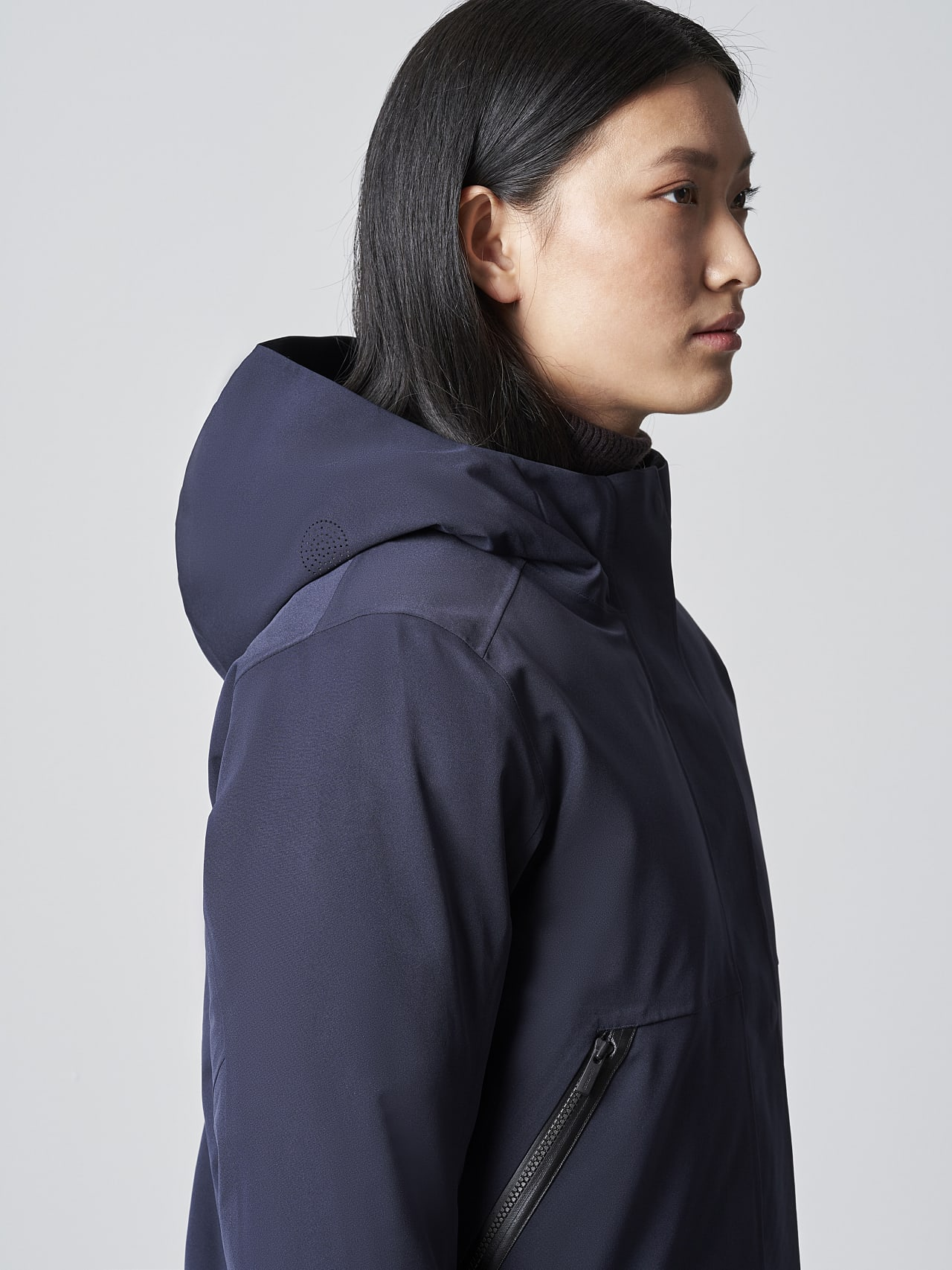 ONUVO V1.Y5.02 Packable Waterproof Jacket navy Right Alpha Tauri