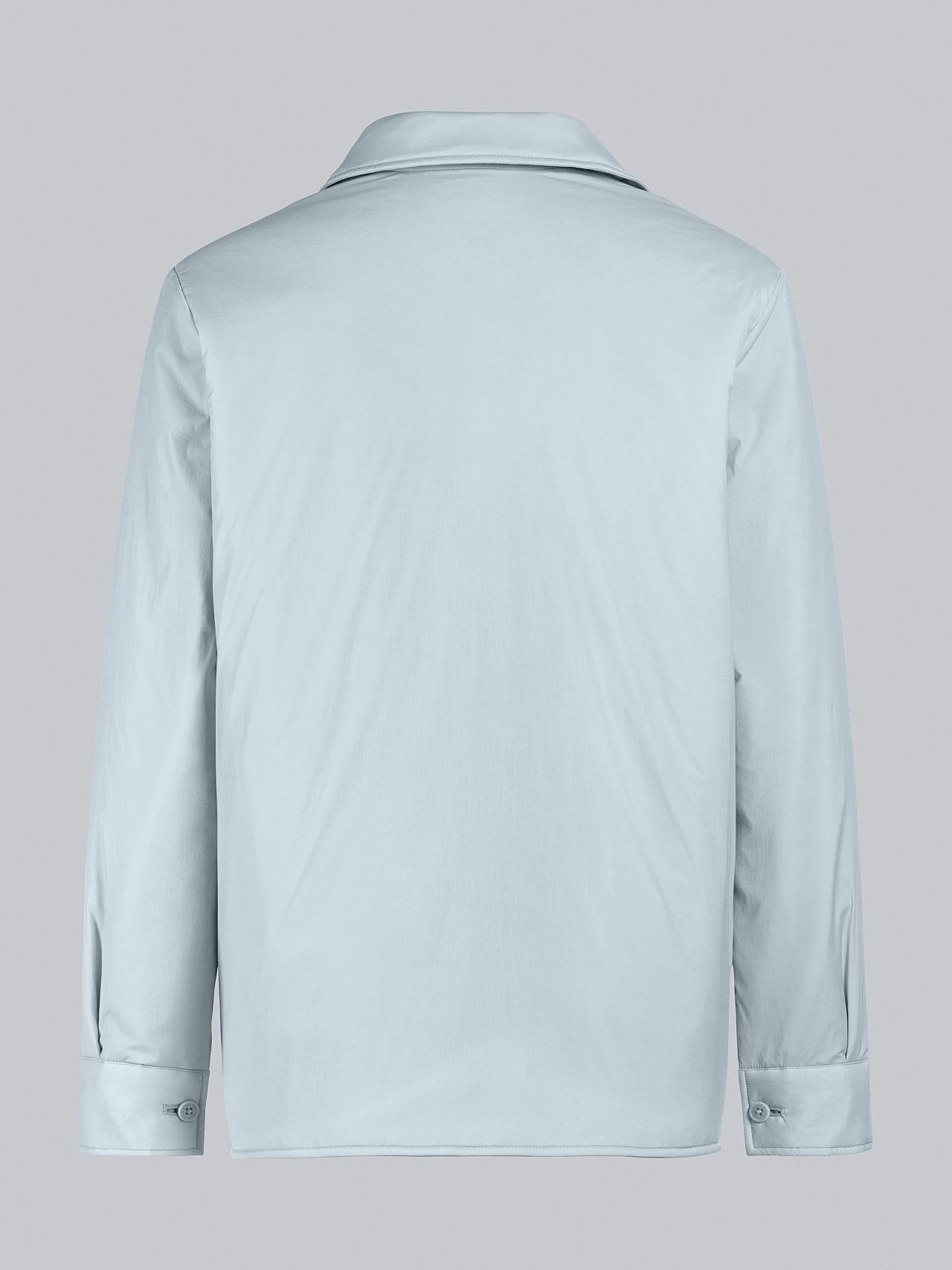 OSHEN V1.Y5.02 PrimaLoft® Overshirt Jacket Pale Blue  Left Alpha Tauri