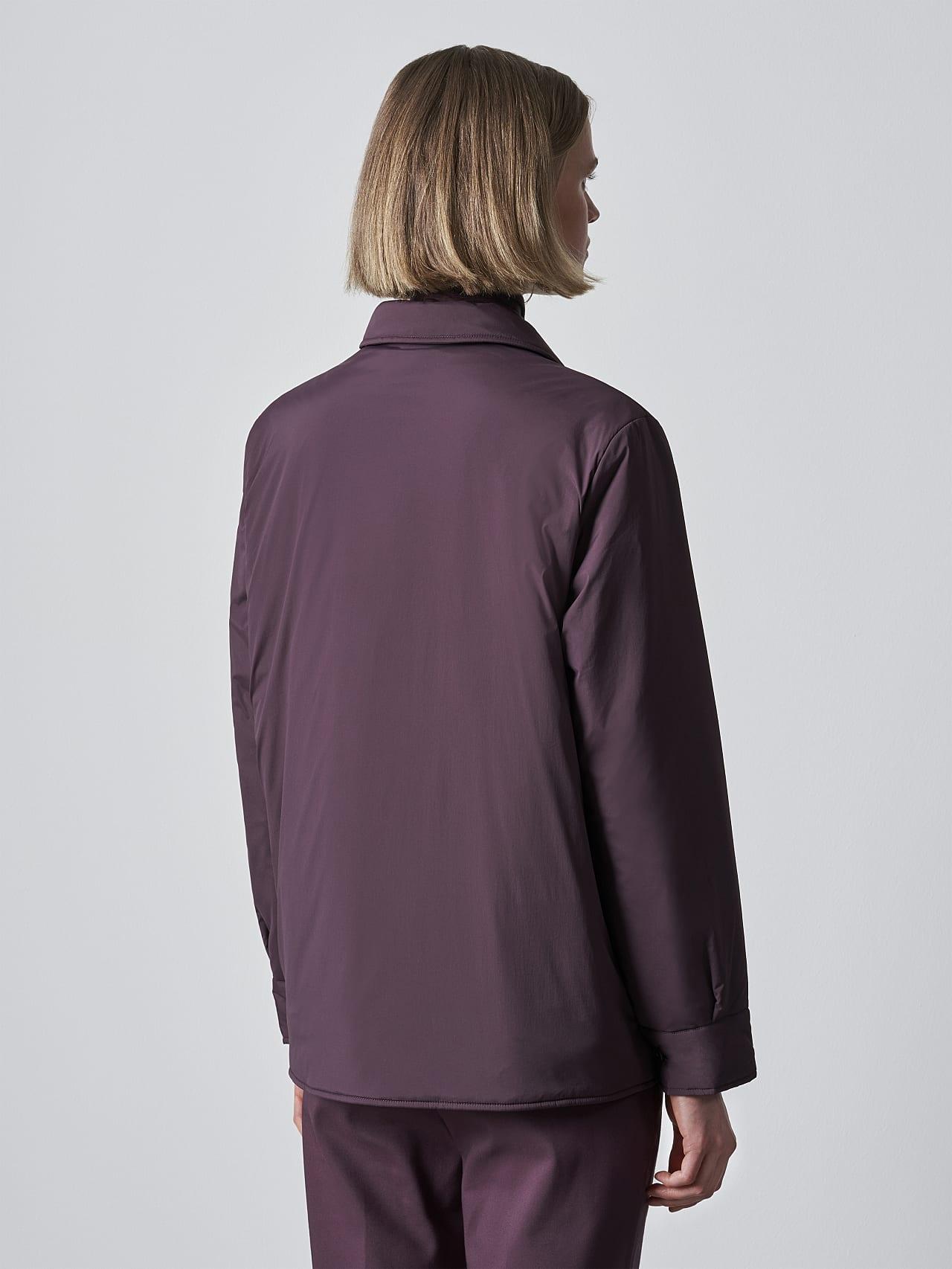 OSHEN V1.Y5.02 PrimaLoft® Overshirt Jacket Burgundy Front Main Alpha Tauri