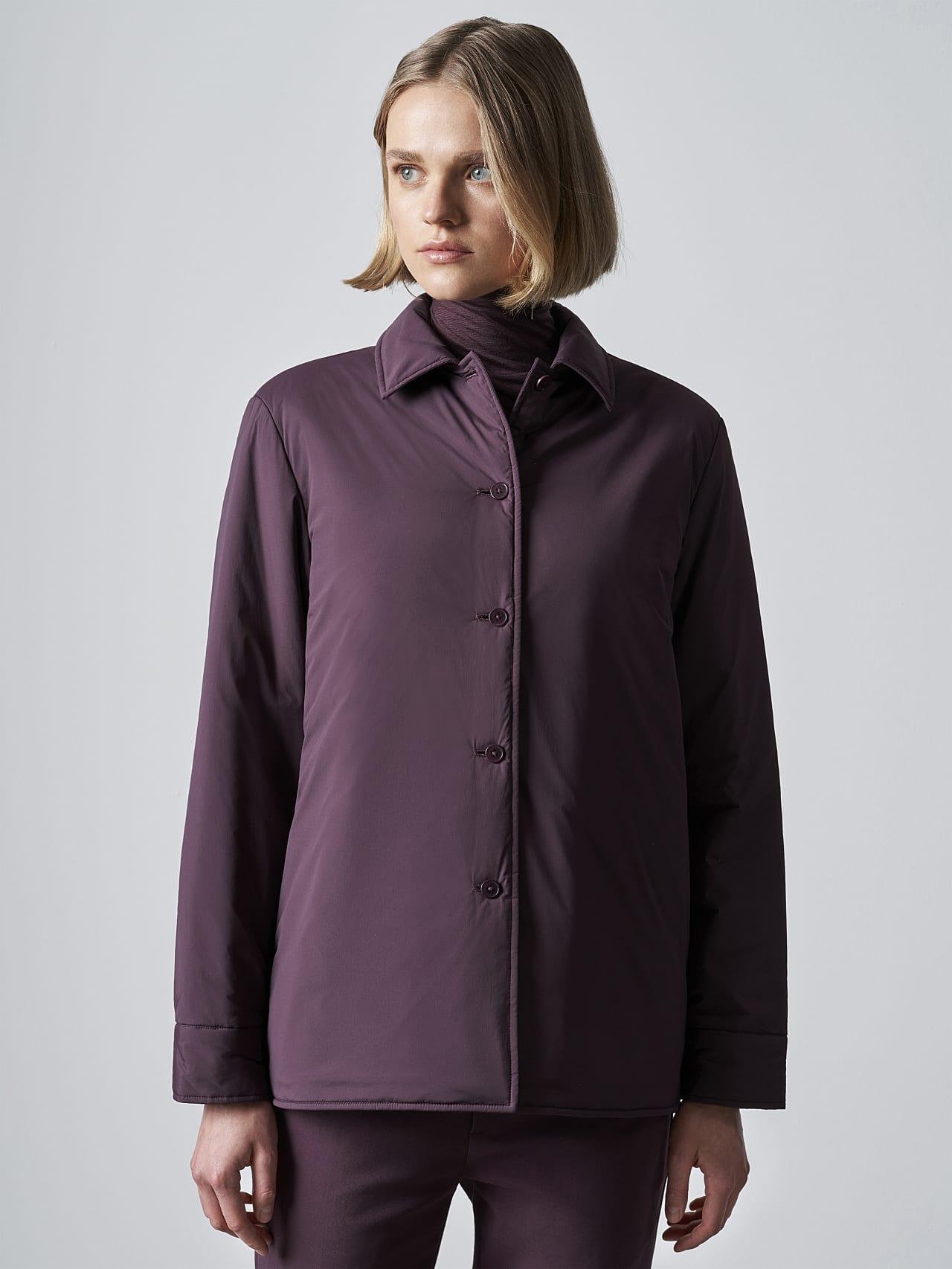 OSHEN V1.Y5.02 PrimaLoft® Overshirt Jacket Burgundy Extra Alpha Tauri