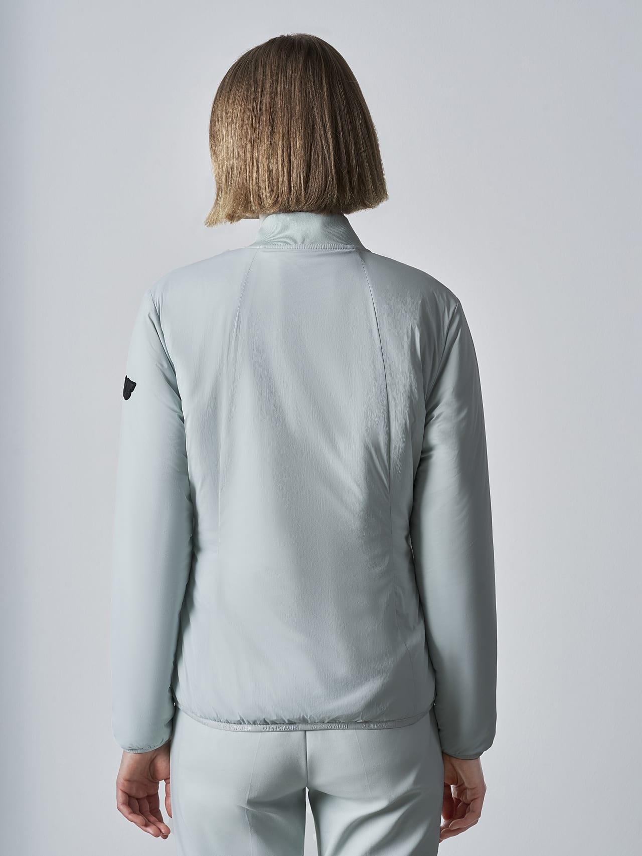 OVAS V4.Y5.02 Padded PrimaLoft® Jacket Pale Blue  Front Main Alpha Tauri