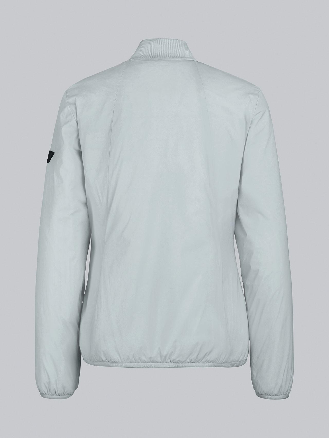 OVAS V4.Y5.02 Padded PrimaLoft® Jacket Pale Blue  Left Alpha Tauri