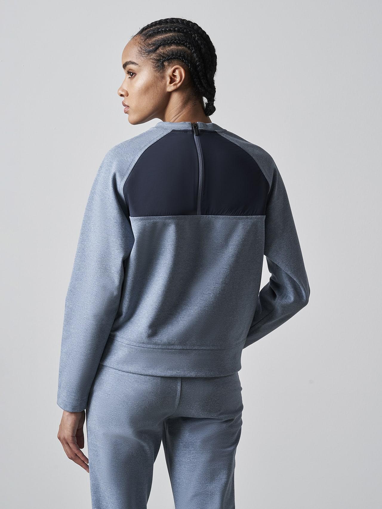 SRONI V2.Y5.02 Waterproof Sweatshirt medium blue Front Main Alpha Tauri