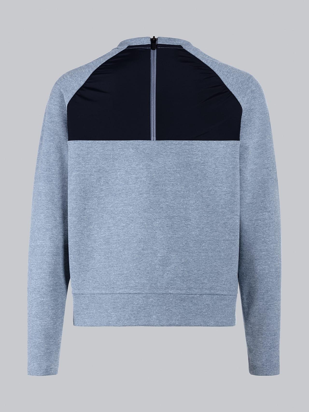 SRONI V2.Y5.02 Waterproof Sweatshirt medium blue Left Alpha Tauri