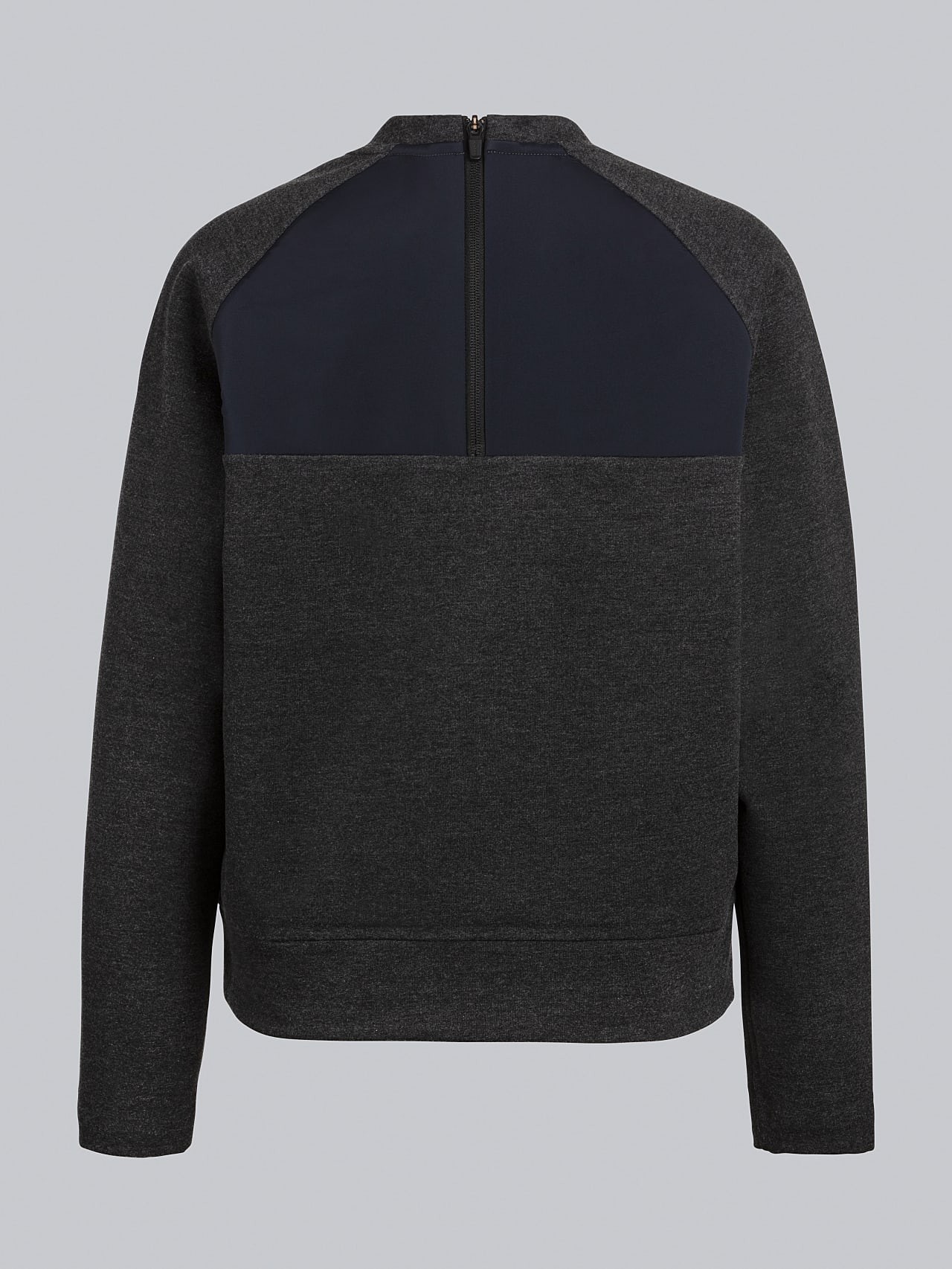 SRONI V2.Y5.02 Waterproof Sweatshirt dark grey / anthracite Left Alpha Tauri