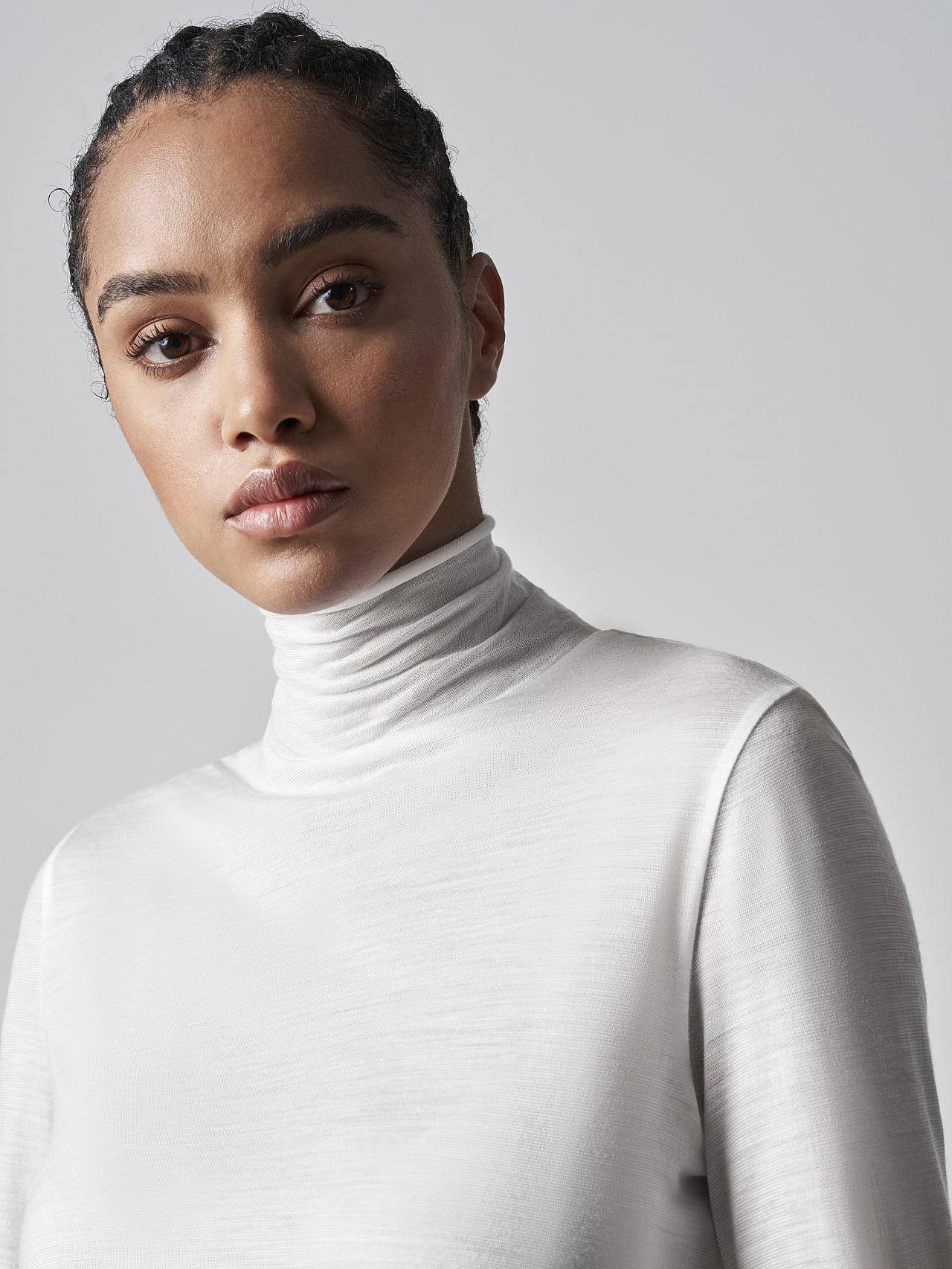 JUPAO V2.Y5.02 Turtleneck Longsleeve offwhite Right Alpha Tauri