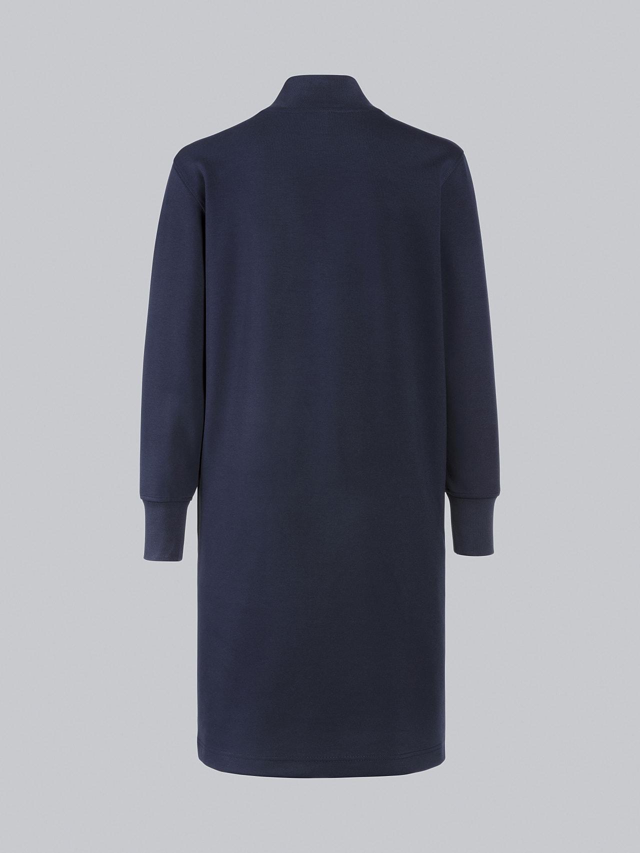 STAR V3.Y5.02 Premium Logo Sweater Dress navy Left Alpha Tauri