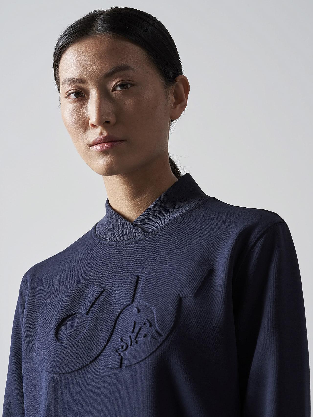 STAR V3.Y5.02 Premium Logo Sweater Dress navy Right Alpha Tauri
