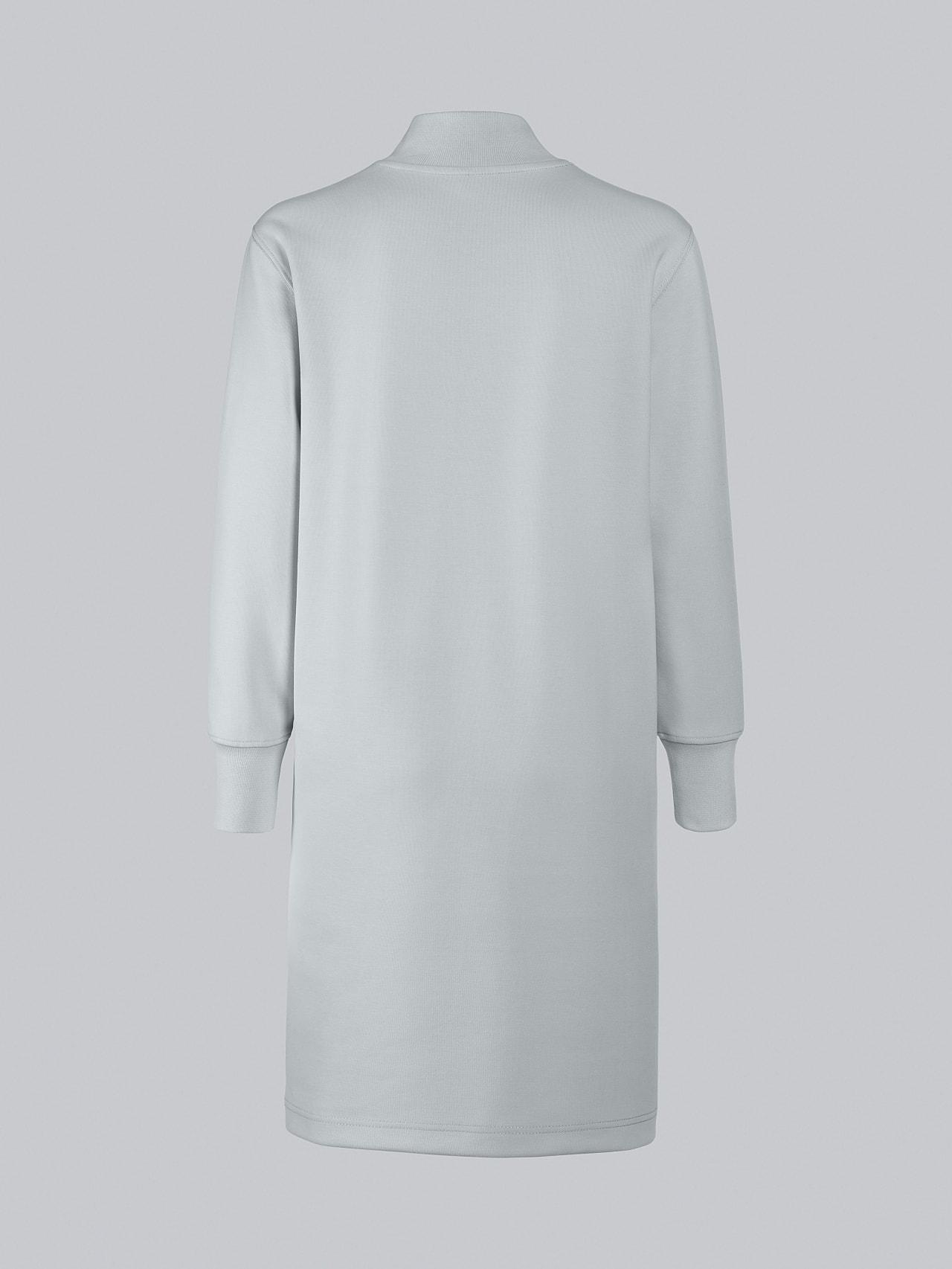 STAR V3.Y5.02 Premium Logo Sweater Dress Pale Blue  Left Alpha Tauri