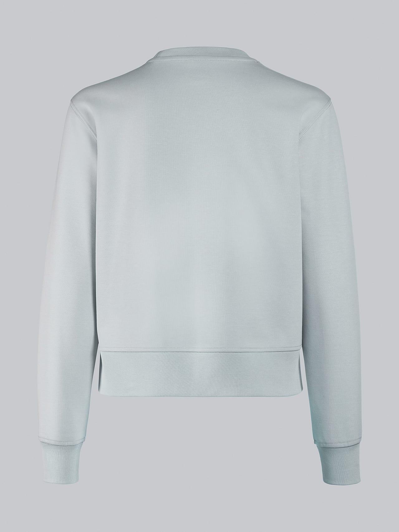 SHINT V1.Y5.02 Premium Logo Sweater Pale Blue  Left Alpha Tauri