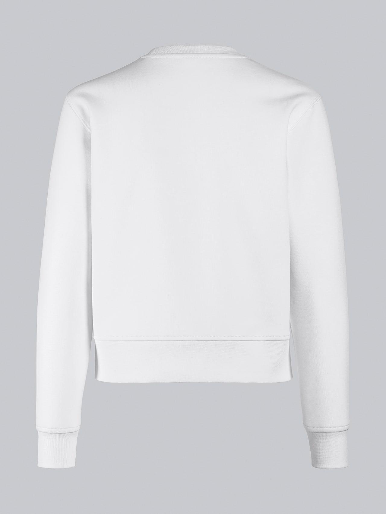 SHINT V1.Y5.02 Premium Logo Sweater offwhite Left Alpha Tauri