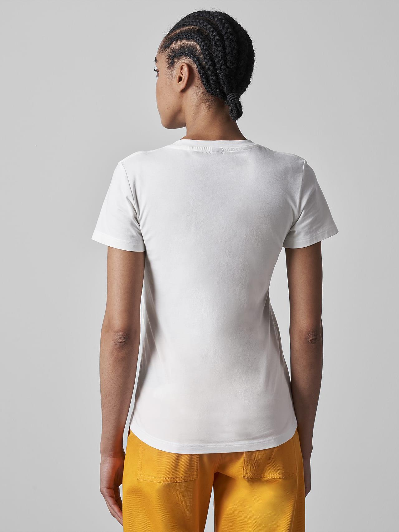 JANPA V1.Y5.02 Logo Print T-Shirt offwhite Front Main Alpha Tauri