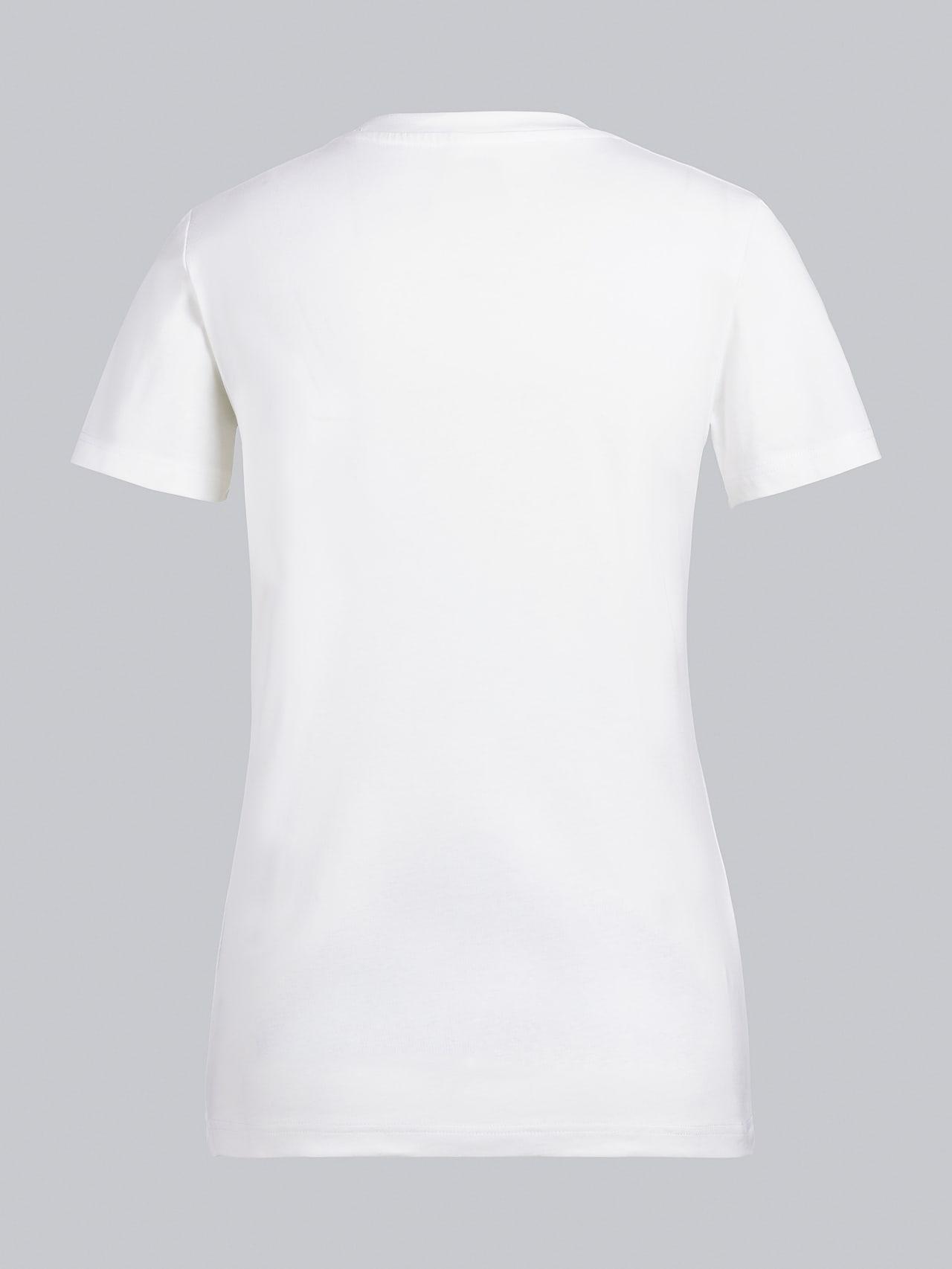 JANPA V1.Y5.02 Logo Print T-Shirt offwhite Left Alpha Tauri