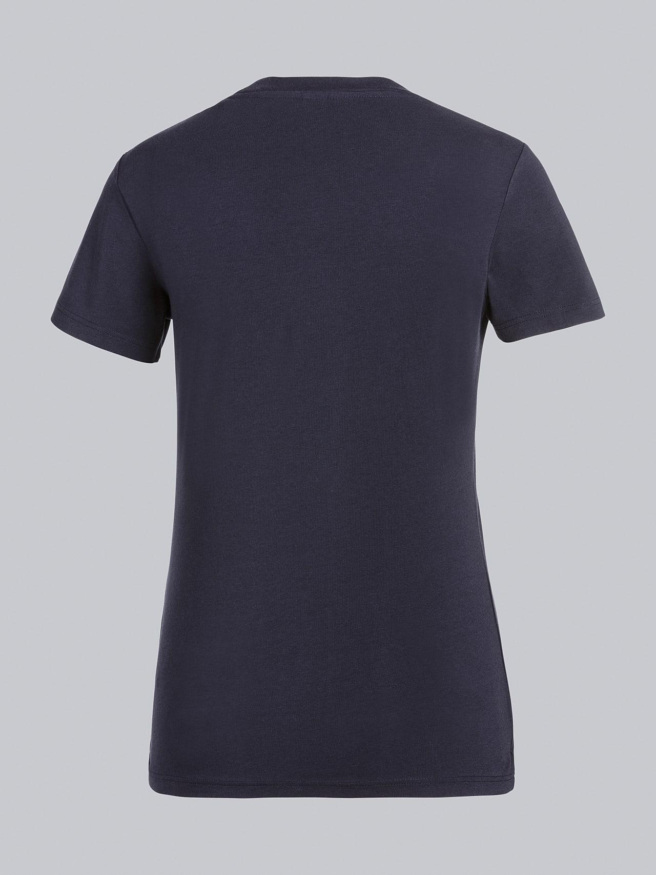 JOCTI V3.Y5.02 Logo T-Shirt navy Left Alpha Tauri