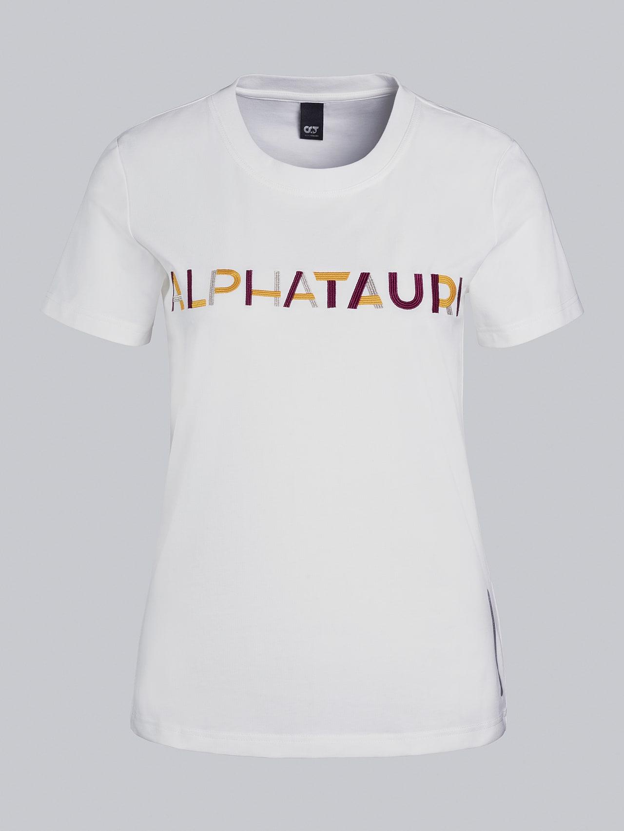 JOCTI V3.Y5.02 Logo T-Shirt offwhite Back Alpha Tauri