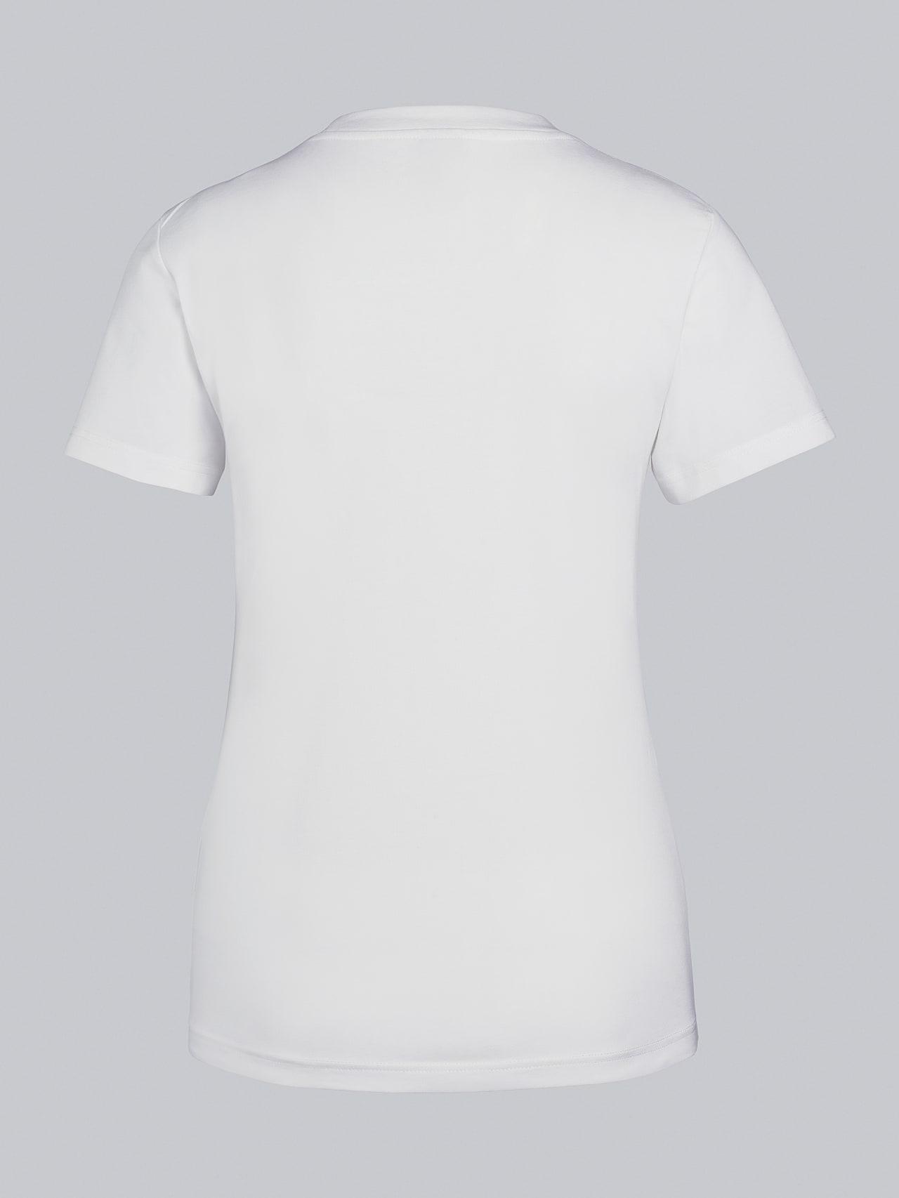 JOCTI V3.Y5.02 Logo T-Shirt offwhite Left Alpha Tauri