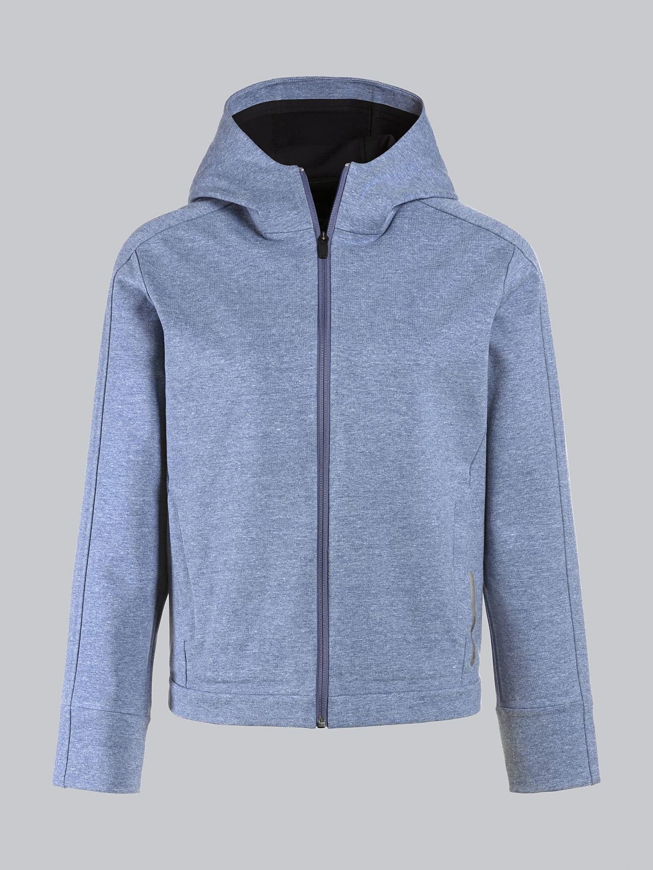 SINNO V2.Y5.02 Waterproof Hooded Jacket medium blue Back Alpha Tauri