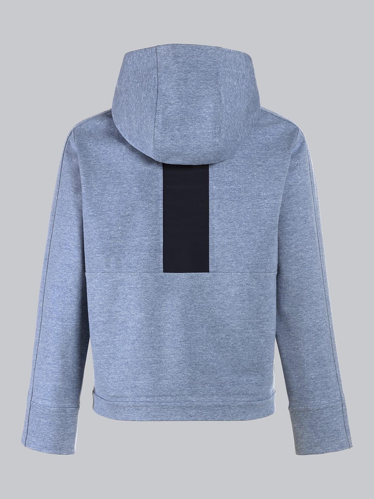 SINNO V2.Y5.02 Waterproof Hooded Jacket medium blue Left Alpha Tauri