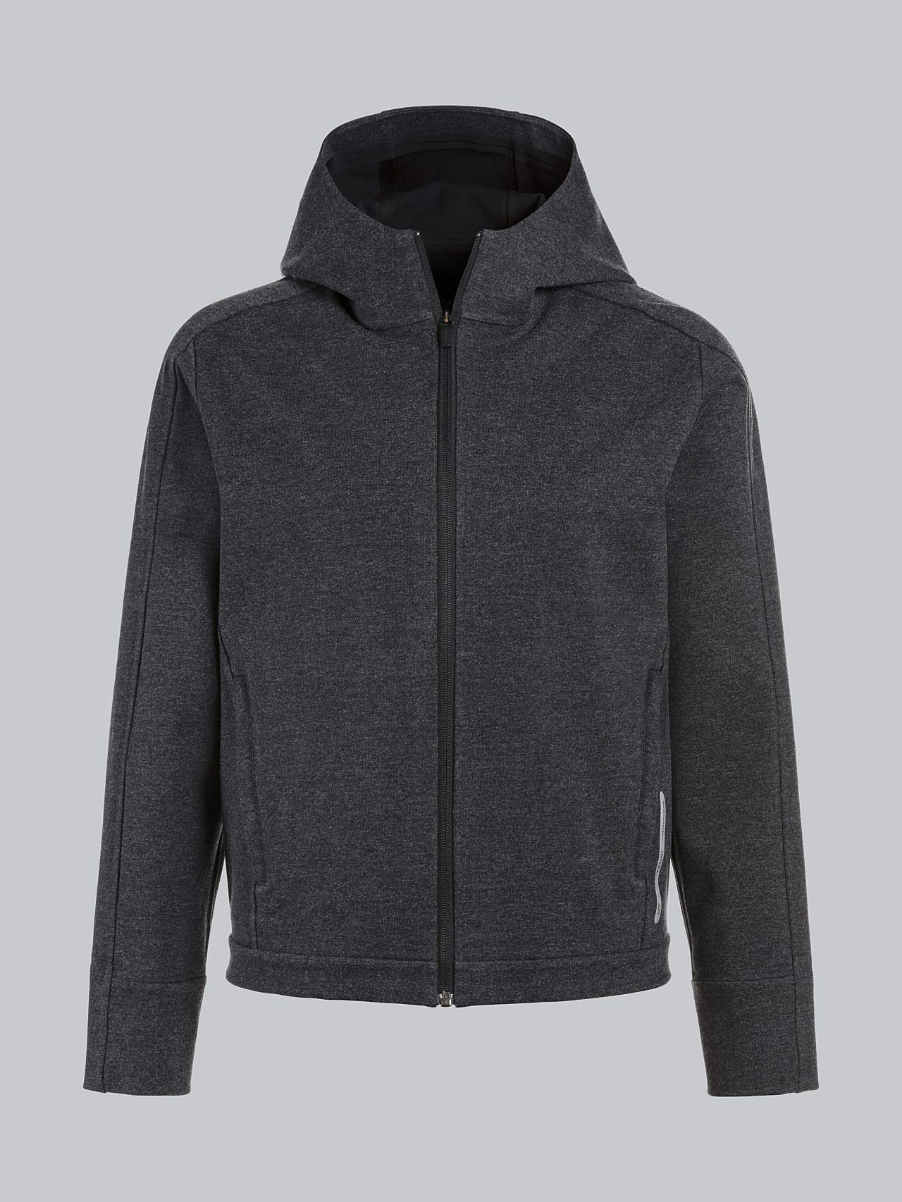 SINNO V2.Y5.02 Waterproof Hooded Jacket dark grey / anthracite Back Alpha Tauri