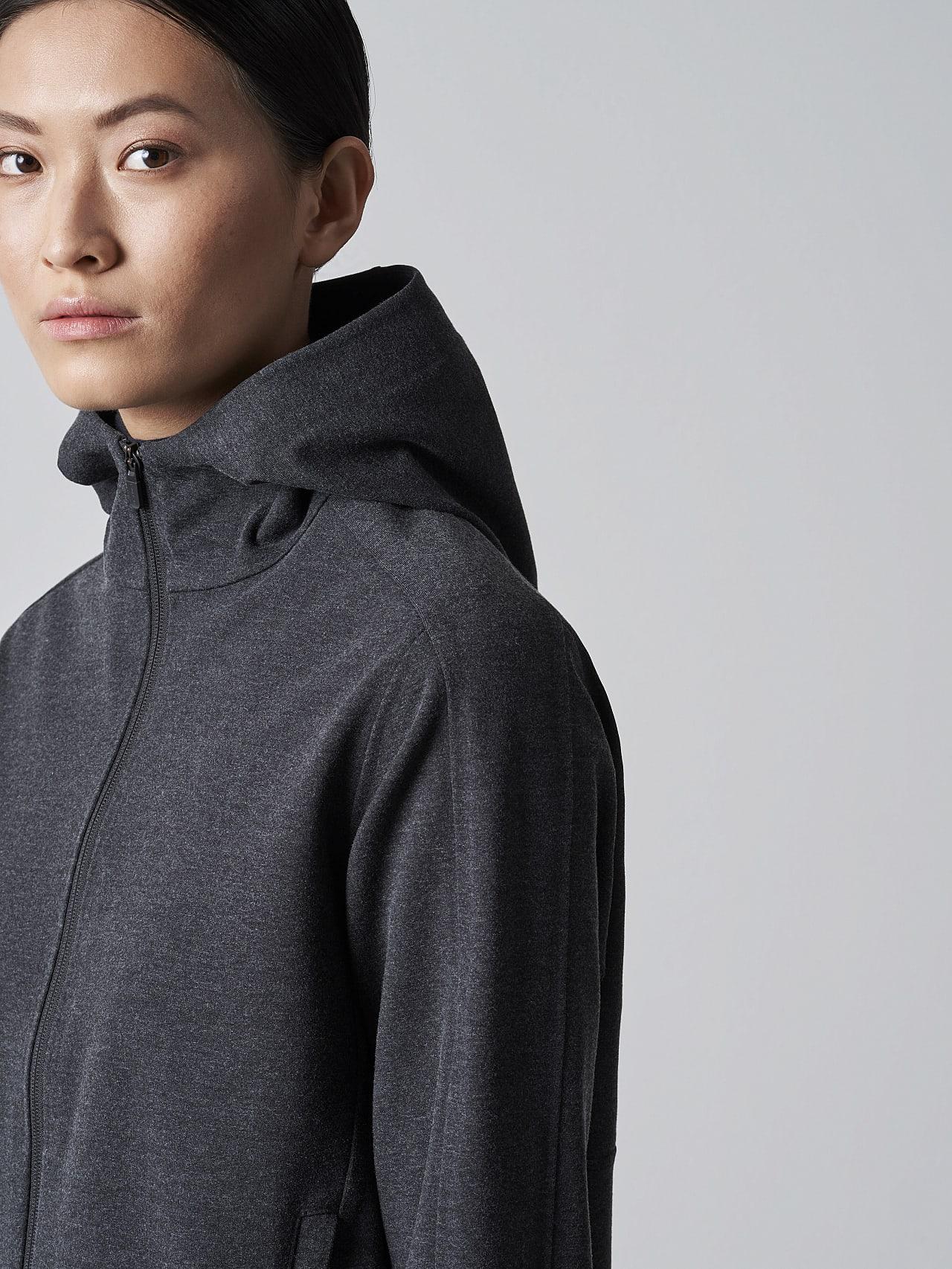SINNO V2.Y5.02 Waterproof Hooded Jacket dark grey / anthracite Right Alpha Tauri