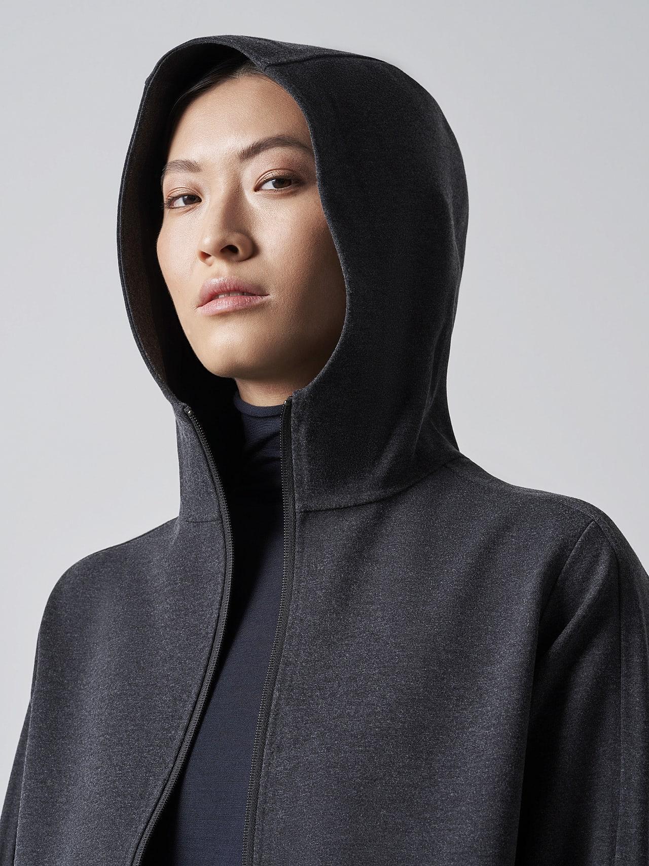 SINNO V2.Y5.02 Waterproof Hooded Jacket dark grey / anthracite Extra Alpha Tauri