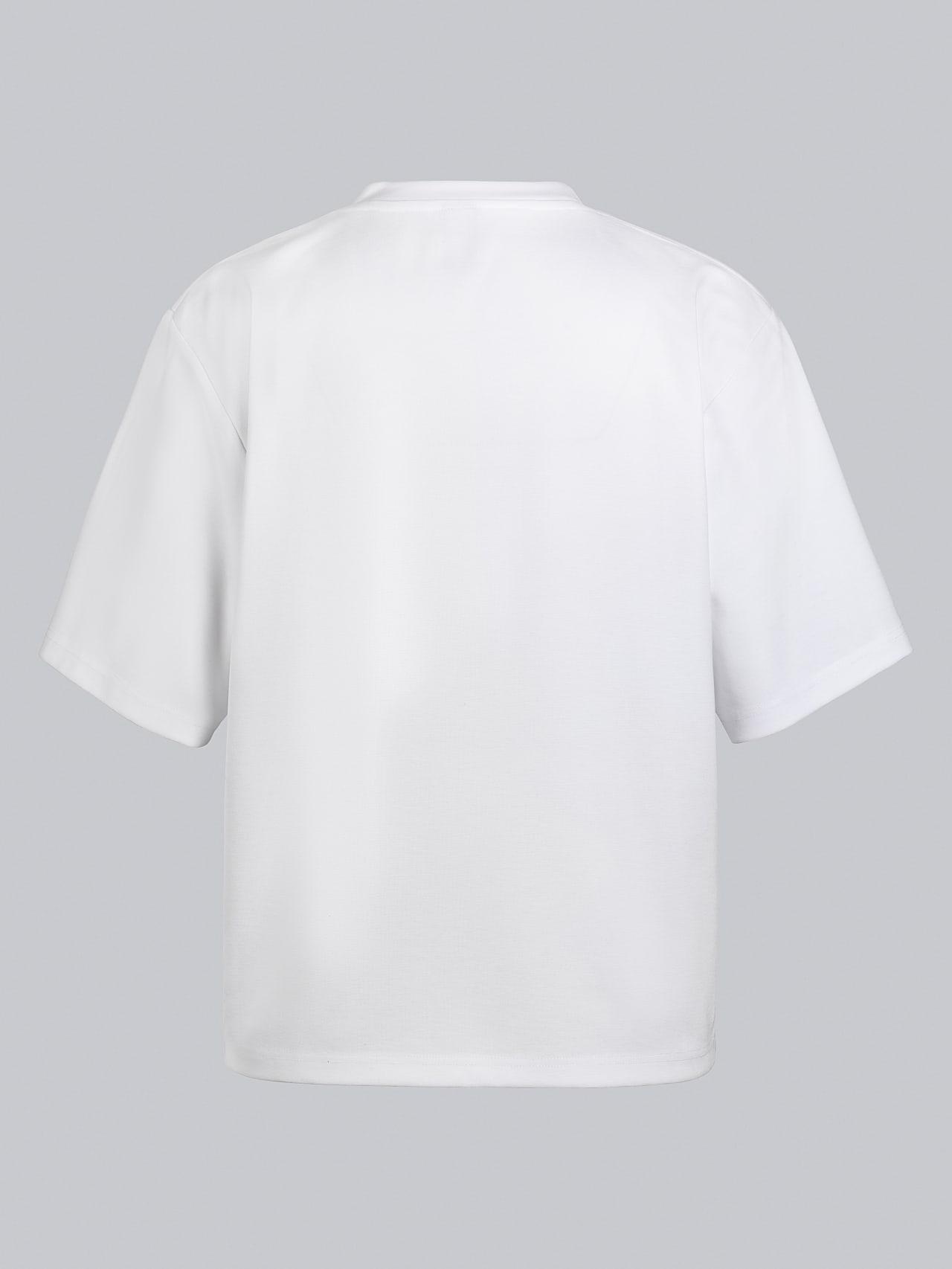 JASHU V1.Y5.02 Heavy-Weight Logo T-Shirt white Left Alpha Tauri