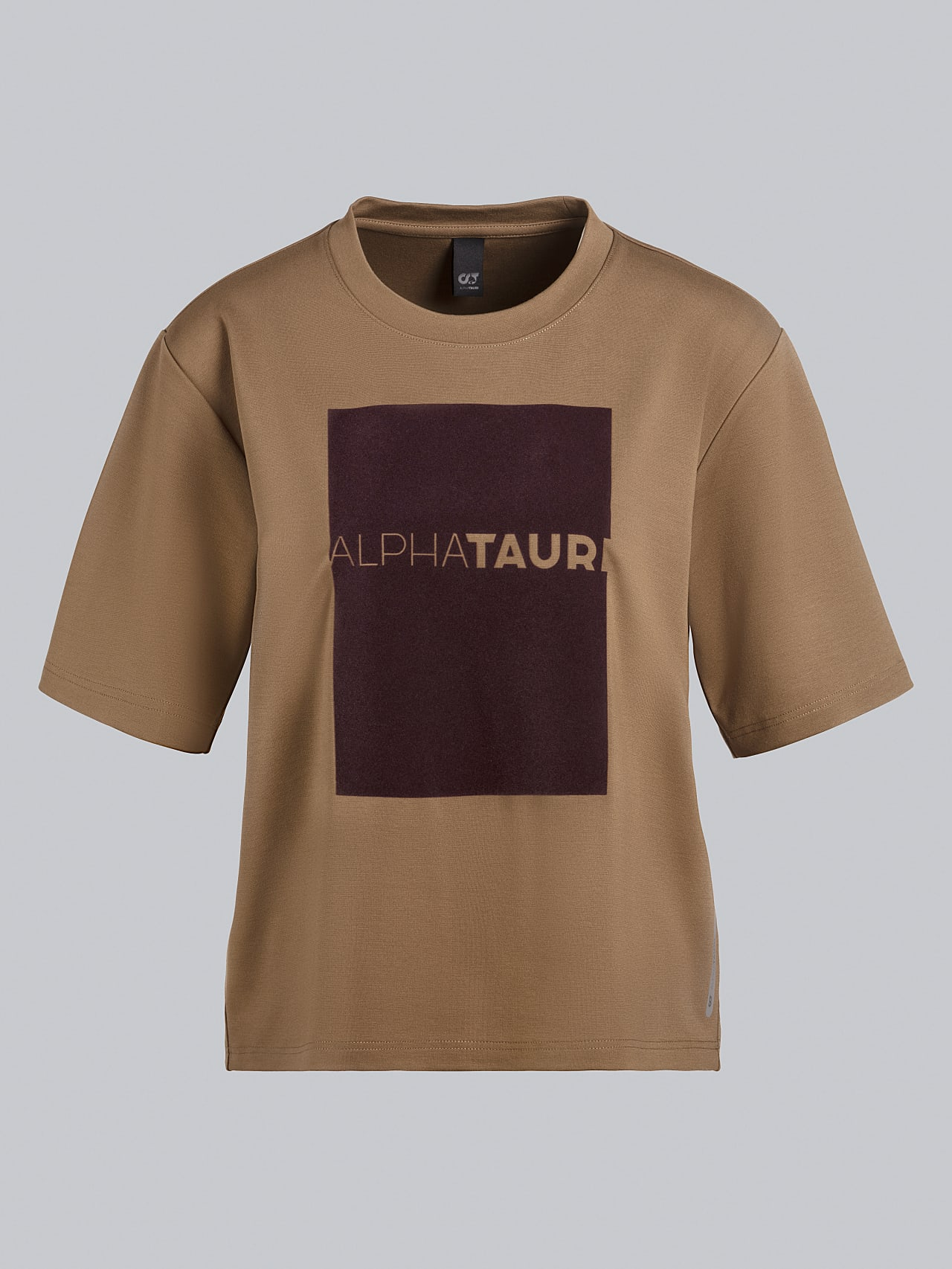 JASHU V1.Y5.02 Heavy-Weight Logo T-Shirt gold Back Alpha Tauri