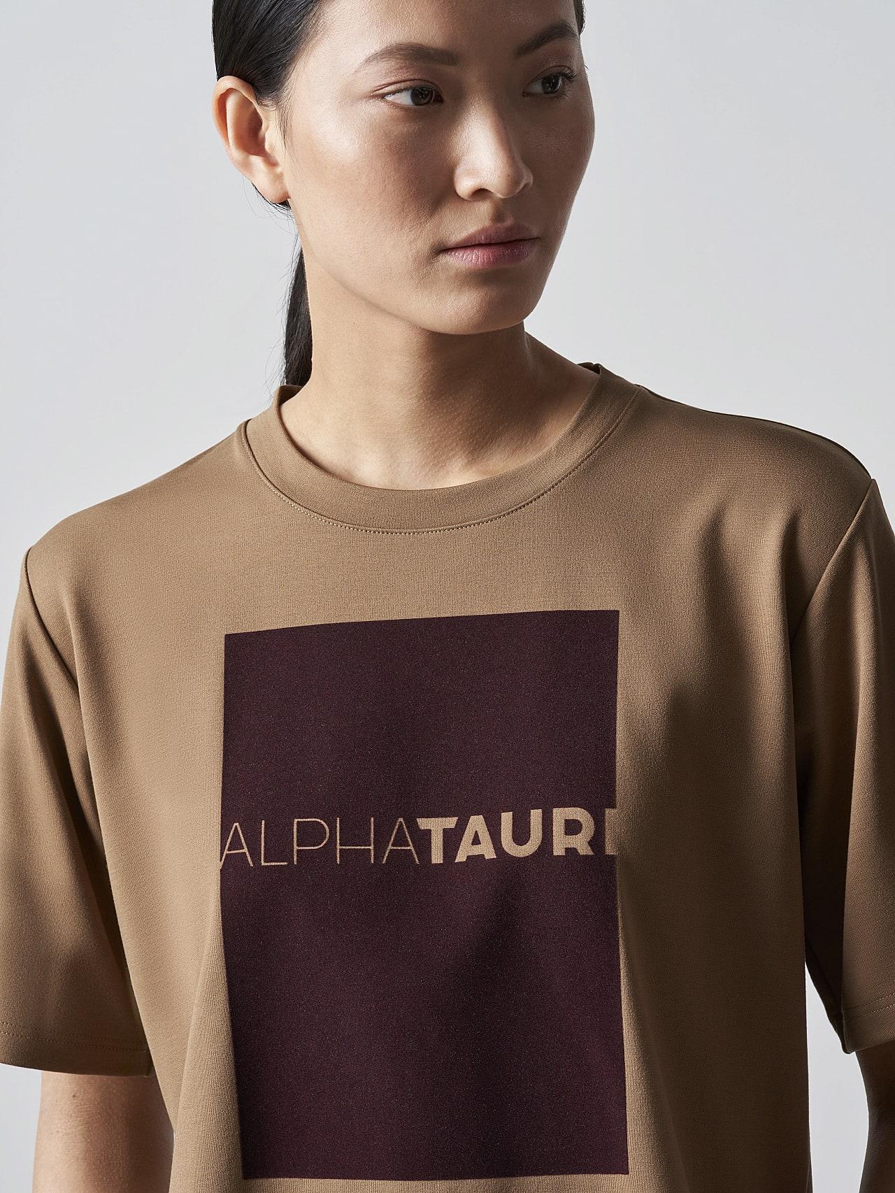 JASHU V1.Y5.02 Heavy-Weight Logo T-Shirt gold Right Alpha Tauri