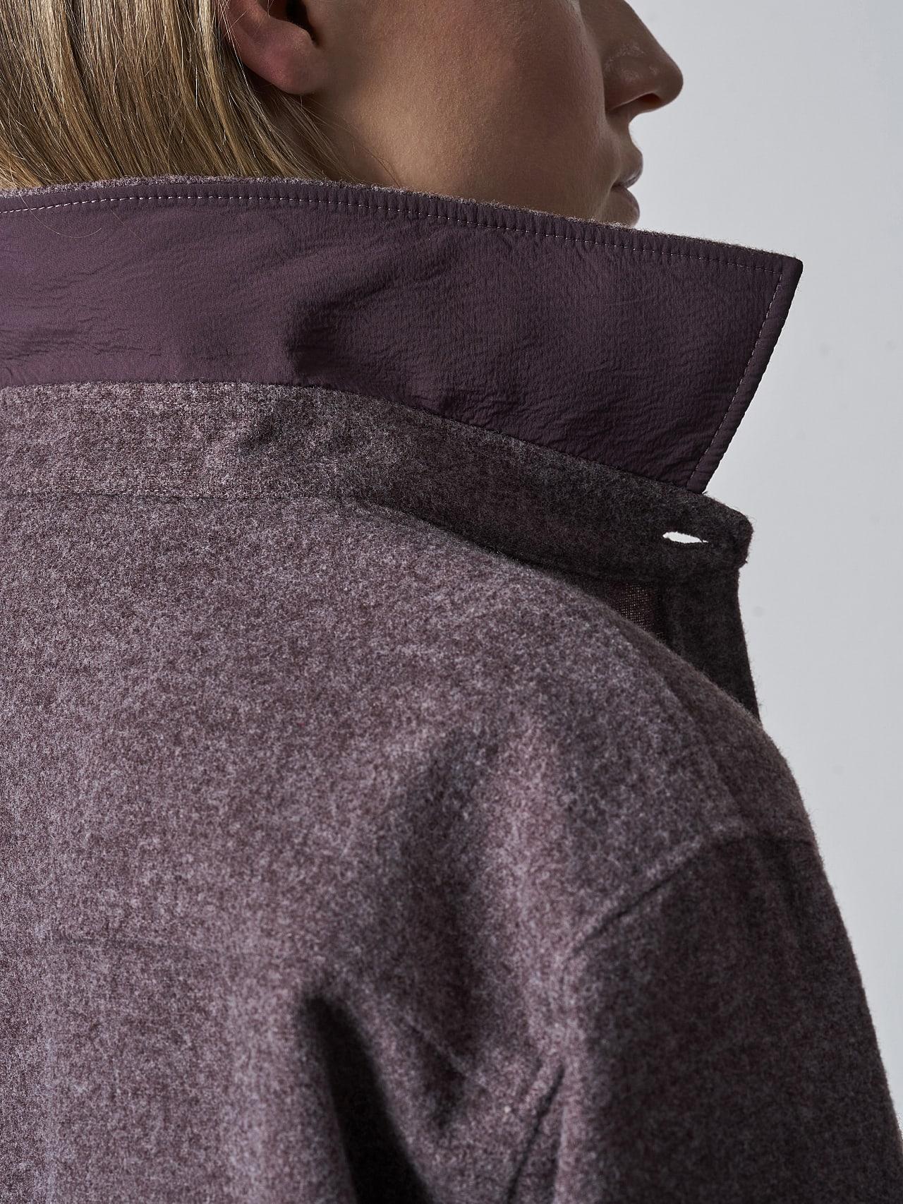 WOVIE V1.Y5.02 Wool Over-Shirt Burgundy scene7.view.8.name Alpha Tauri