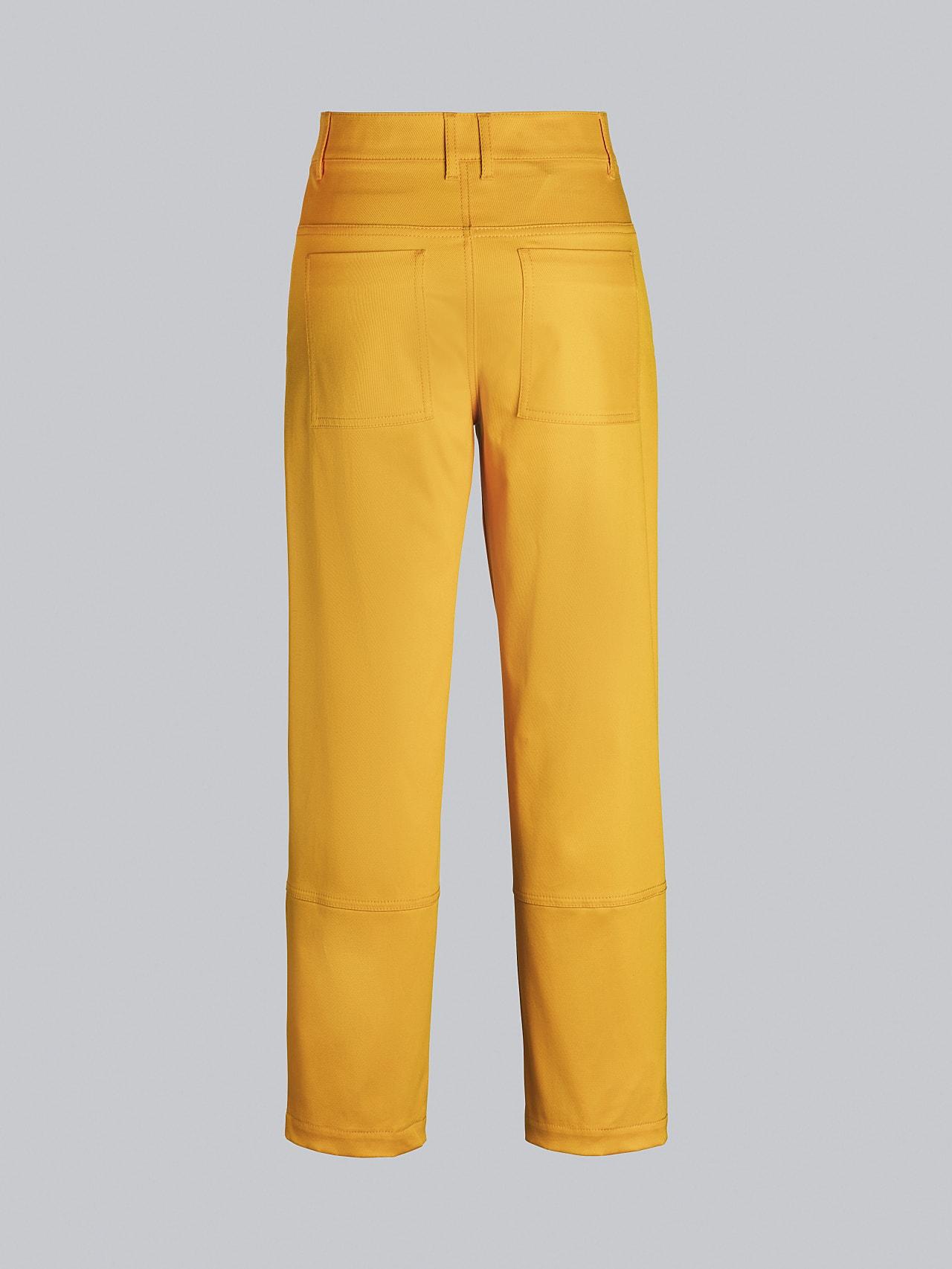 PCHAR V1.Y5.02 Tapered Barrel-Leg Pants yellow Left Alpha Tauri