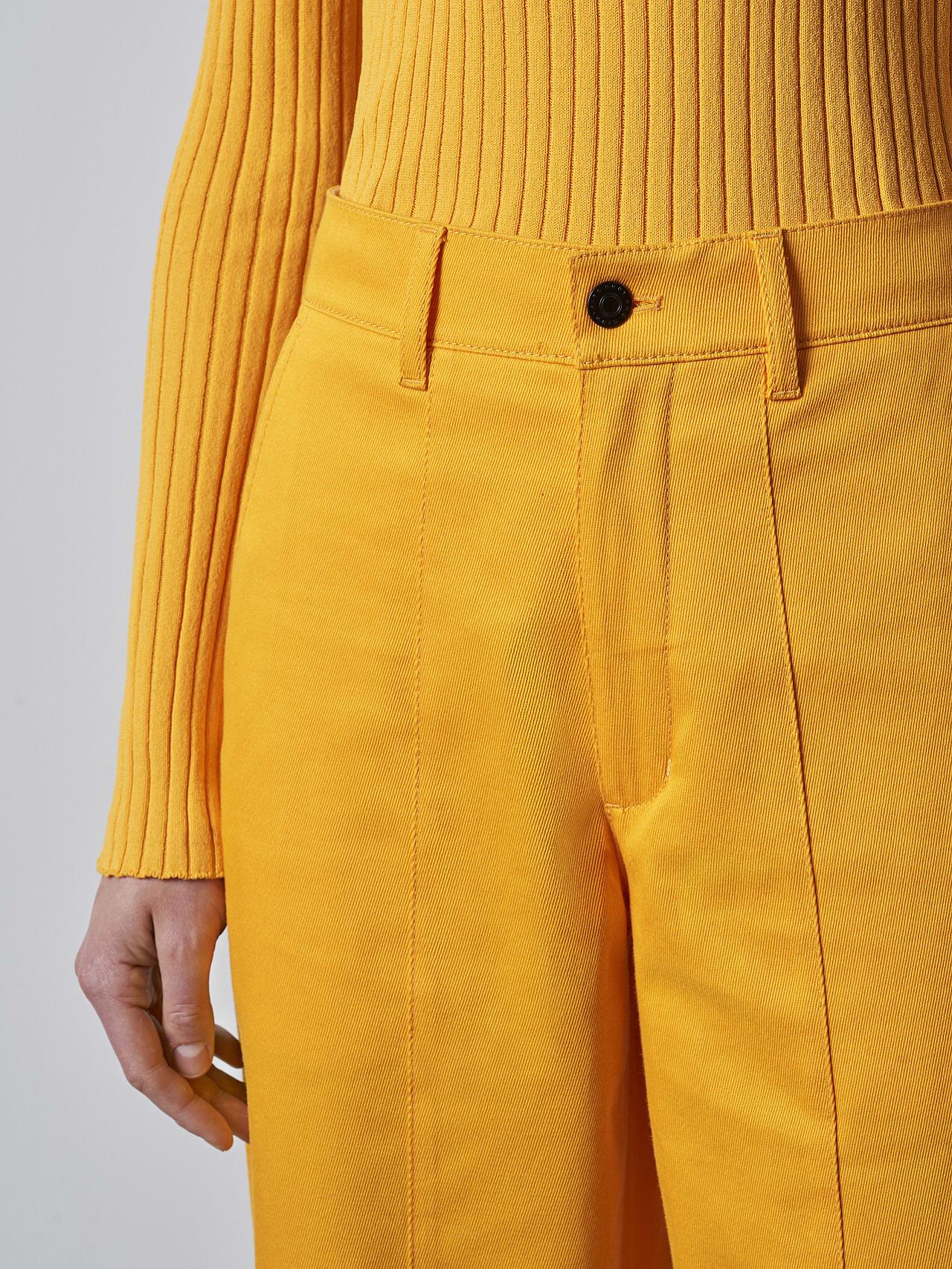 PCHAR V1.Y5.02 Tapered Barrel-Leg Pants yellow Right Alpha Tauri