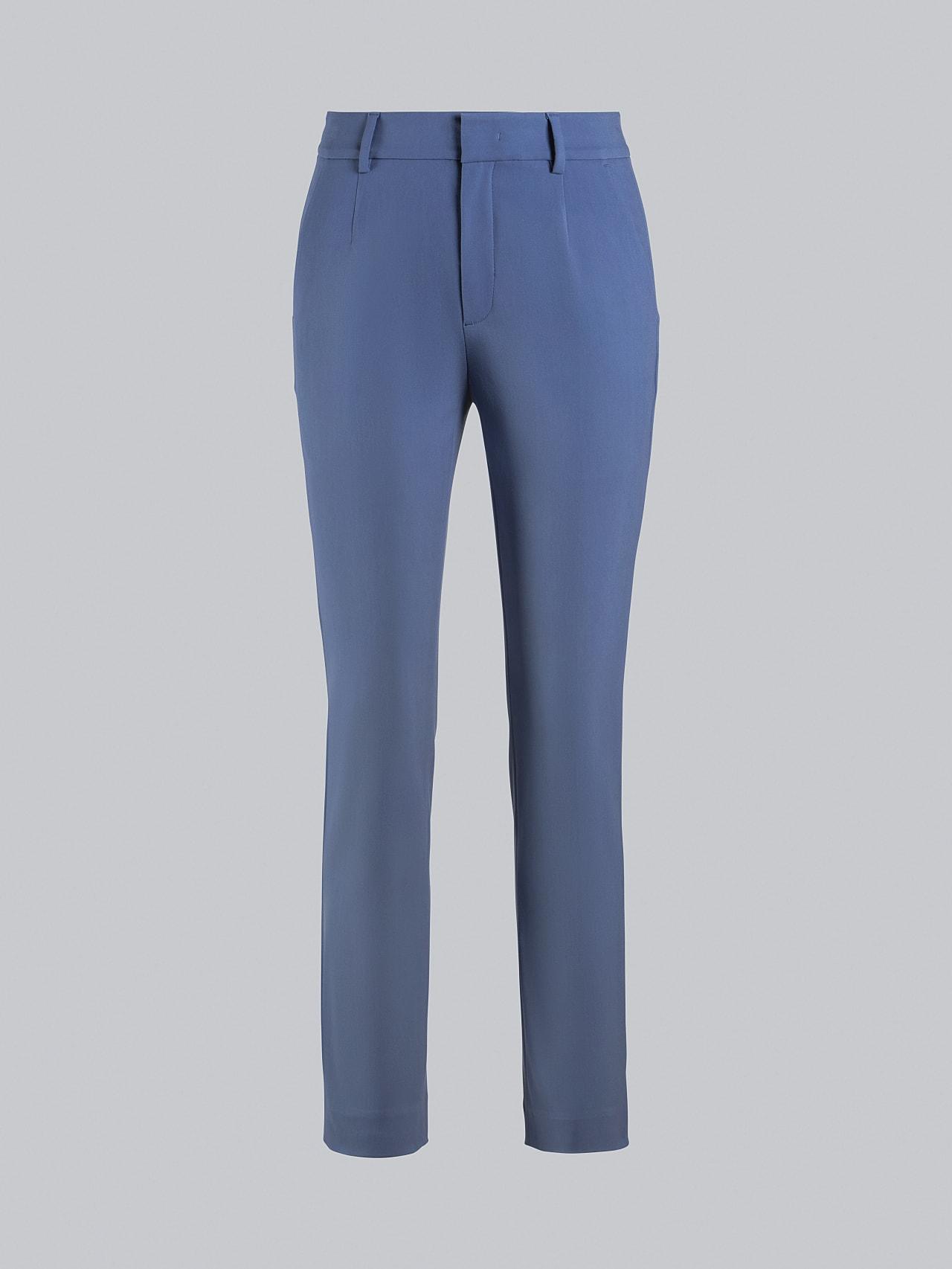 PERTI V1.Y5.02 Slim-Fit Tapered Pants light blue Back Alpha Tauri
