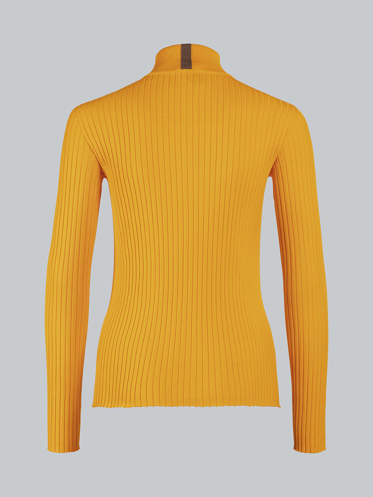 FAXEE V1.Y5.02 Seamless 3D Knit Mock-Neck Jumper yellow Left Alpha Tauri