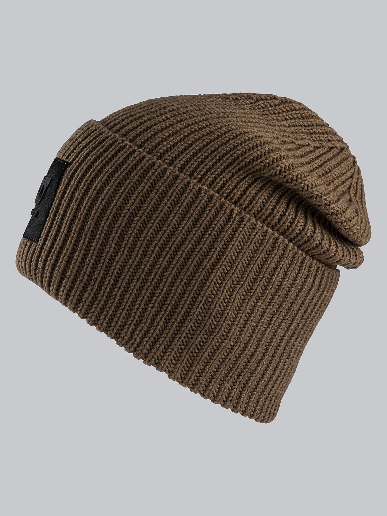 AHRAF V1.Y5.02 Unisex Rib Knit Wool Beanie gold Left Alpha Tauri