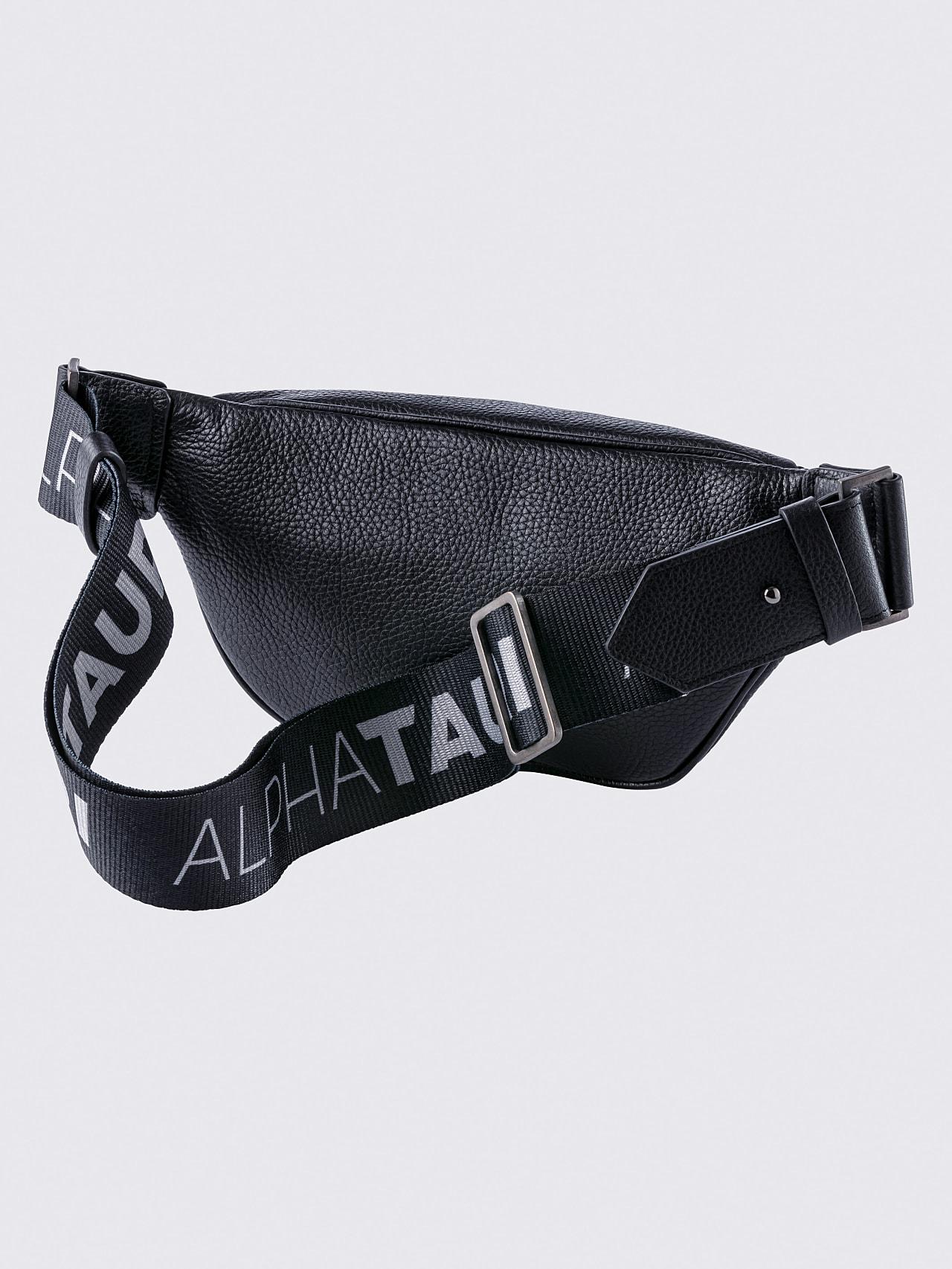 AFABA V2.Y5.02 Leather Crossbody Bag black Left Alpha Tauri