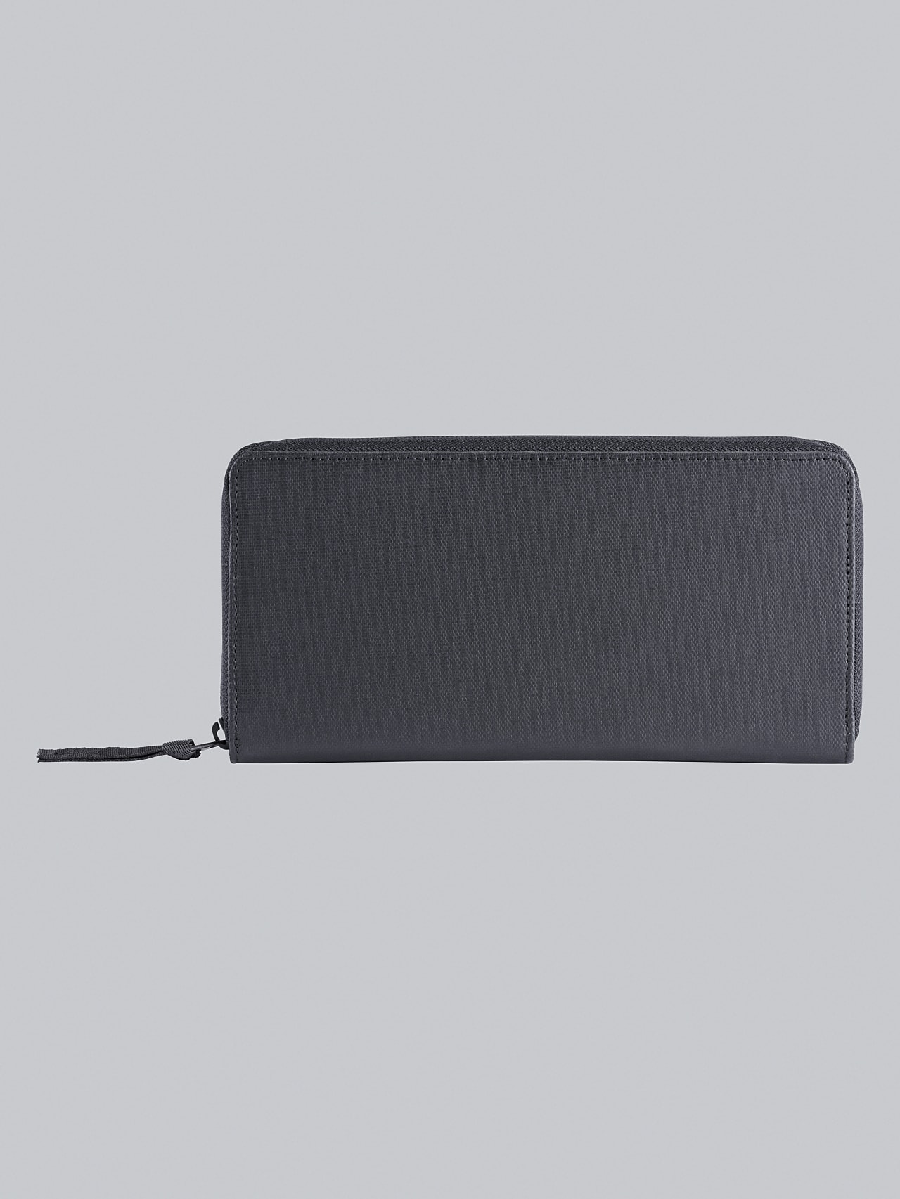 APOM V1.Y5.02 Water-Repellent Zip Wallet dark grey / anthracite Left Alpha Tauri
