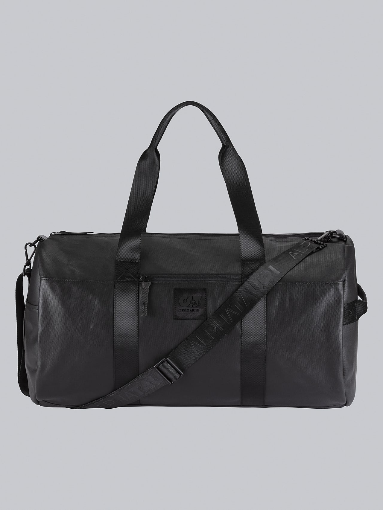 AWEE V4.Y5.02 Water-Repellent Duffle Bag dark grey / anthracite Back Alpha Tauri