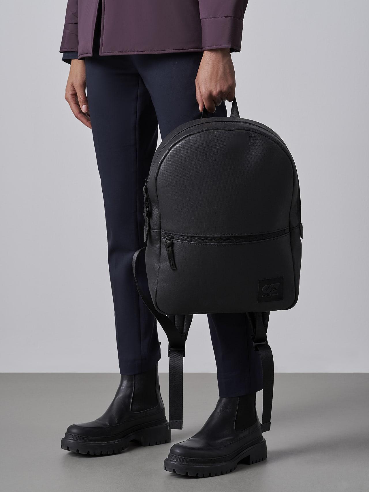 AREKK V2.Y5.02 Water-Repellent Backpack dark grey / anthracite Front Main Alpha Tauri