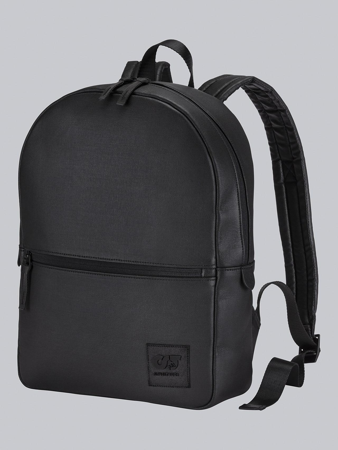 AREKK V2.Y5.02 Water-Repellent Backpack dark grey / anthracite Back Alpha Tauri