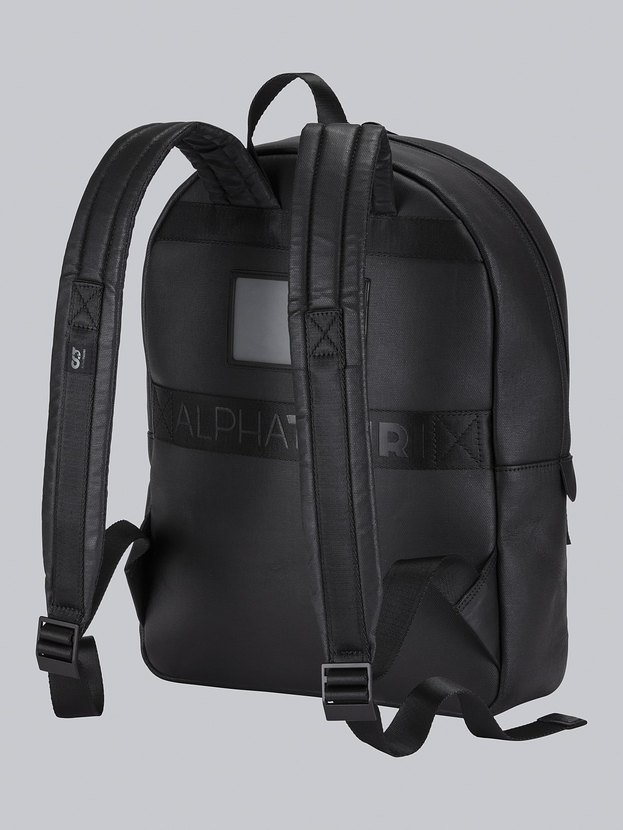 AREKK V2.Y5.02 Water-Repellent Backpack dark grey / anthracite Left Alpha Tauri