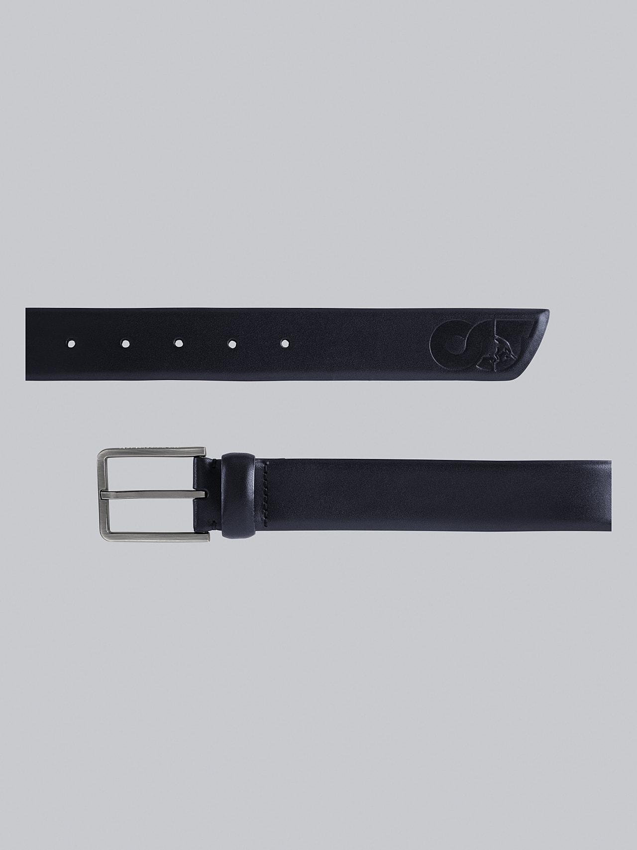 AGOS V1.Y5.02 Leather Belt navy Left Alpha Tauri
