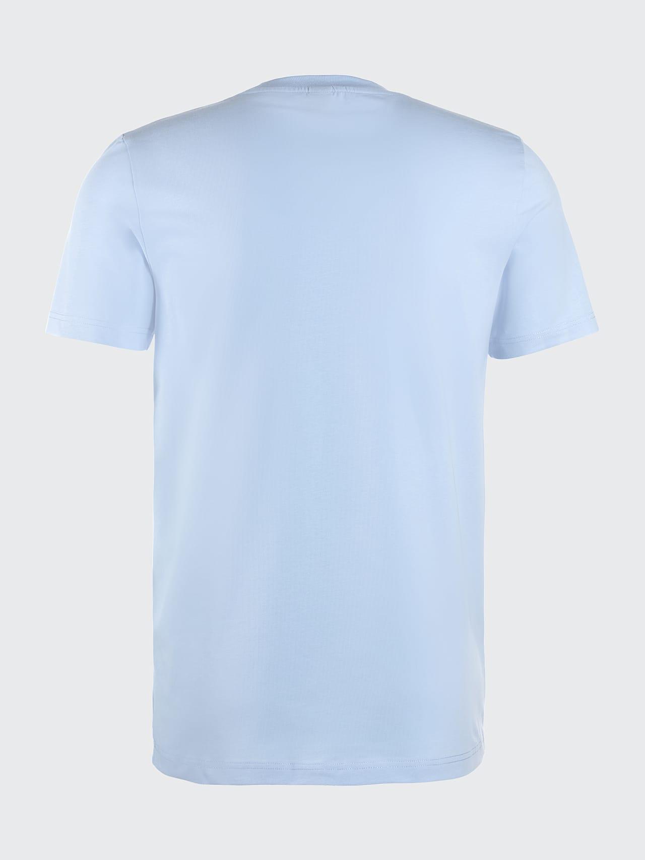 JERO V2.Y4.02 Signature Logo T-Shirt light blue Left Alpha Tauri