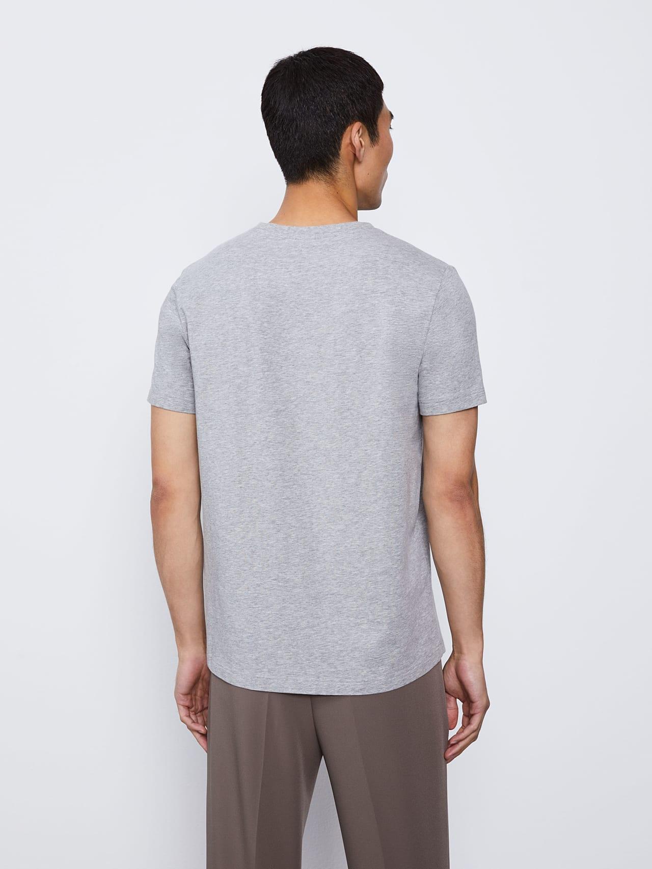 JERO V2.Y4.02 Signature Logo T-Shirt grey / melange Front Main Alpha Tauri