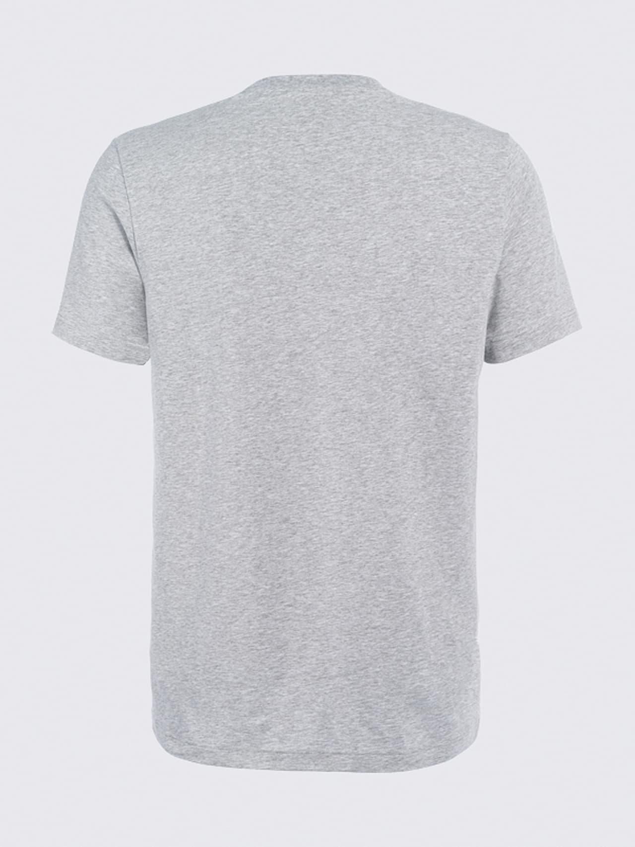JERO V2.Y4.02 Signature Logo T-Shirt grey / melange Left Alpha Tauri