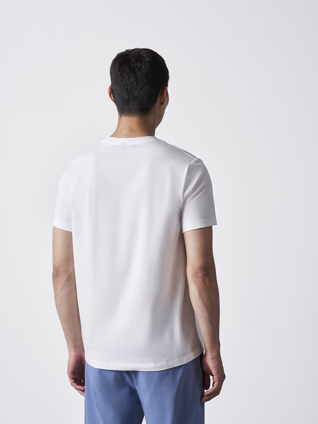 JERO V2.Y4.02 Signature Logo T-Shirt white Front Main Alpha Tauri