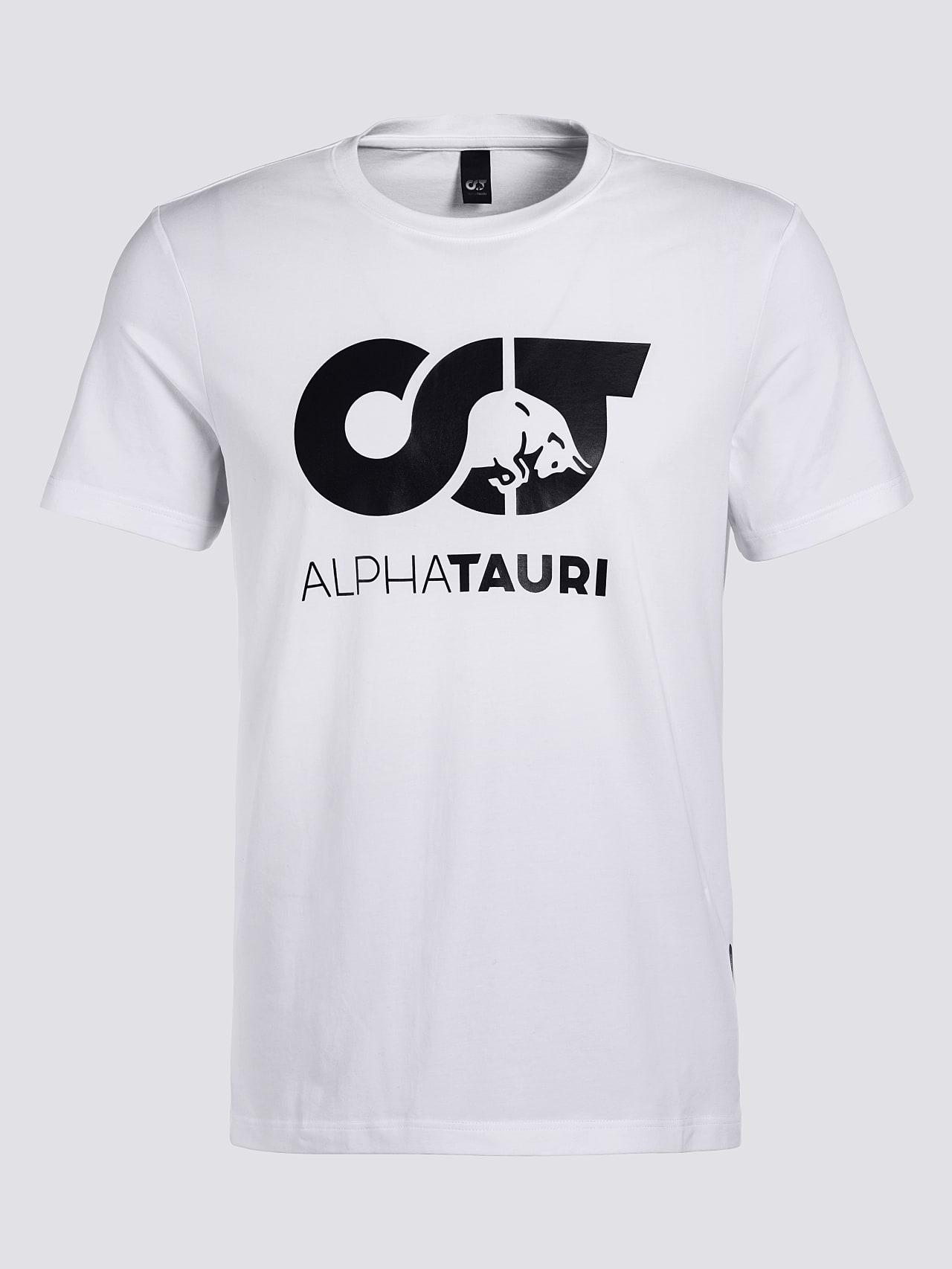 JERO V2.Y4.02 Signature Logo T-Shirt white Back Alpha Tauri