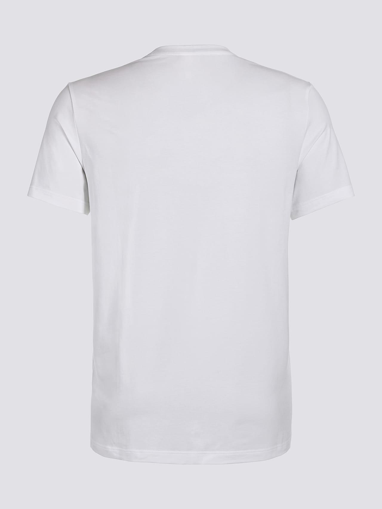 JERO V2.Y4.02 Signature Logo T-Shirt white Left Alpha Tauri