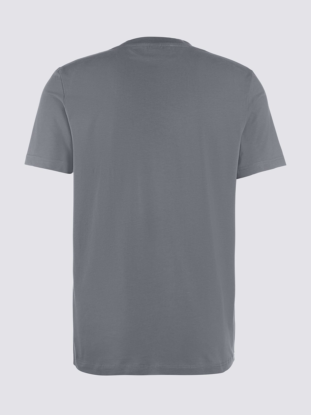 JERO V2.Y4.02 Signature Logo T-Shirt Grey Left Alpha Tauri