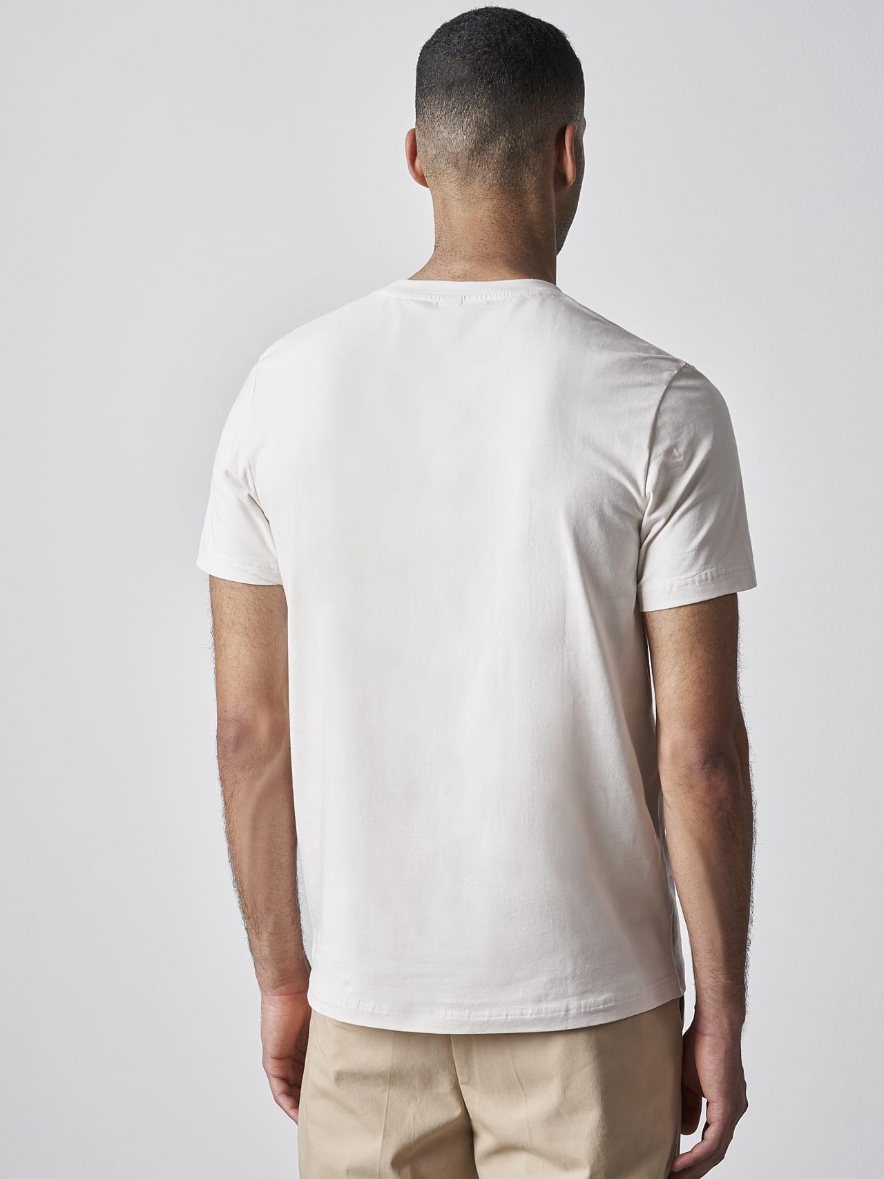 JERO V2.Y4.02 Signature Logo T-Shirt Sand Front Main Alpha Tauri